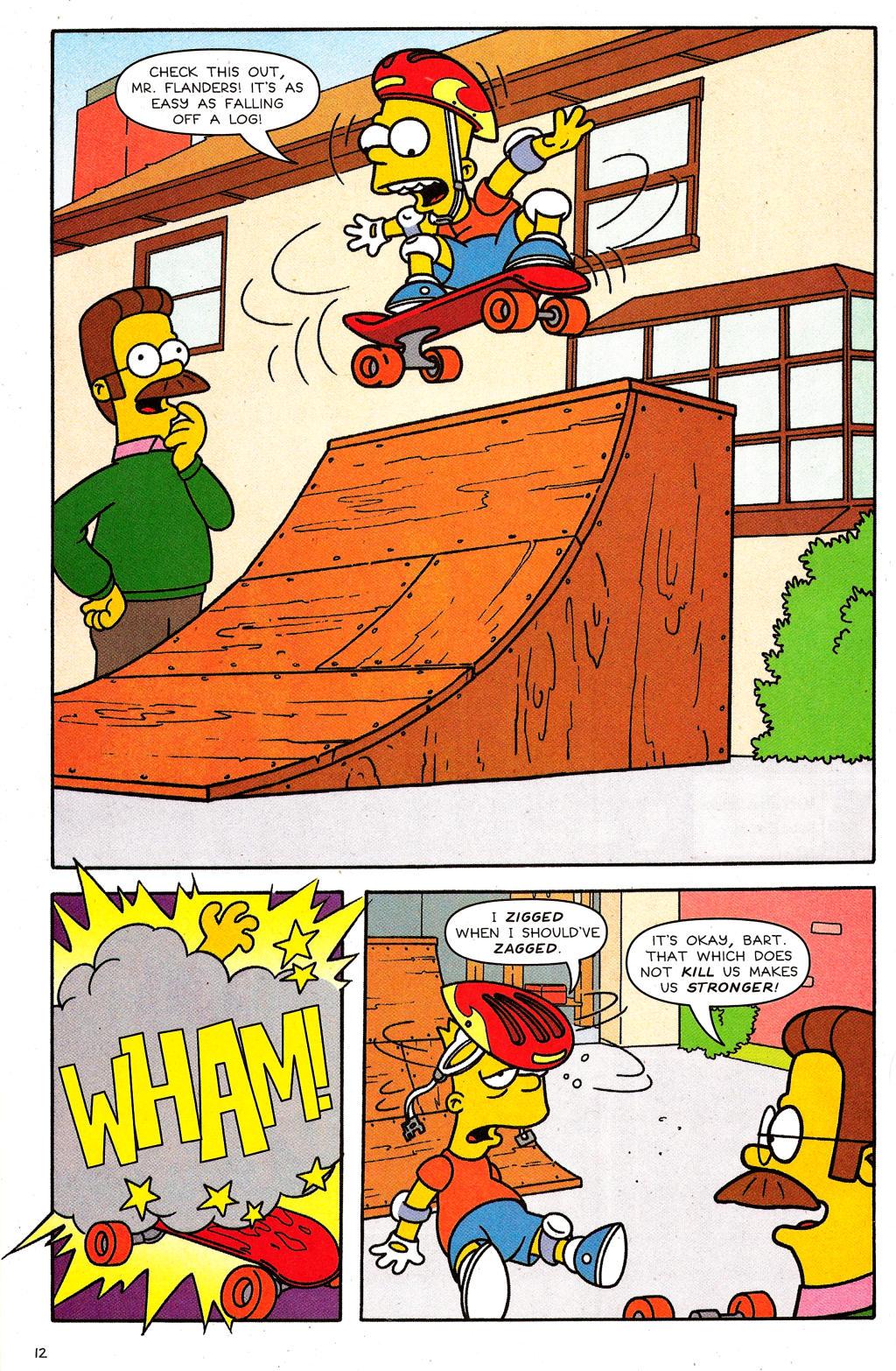 Read online Simpsons Comics comic -  Issue #124 - 10