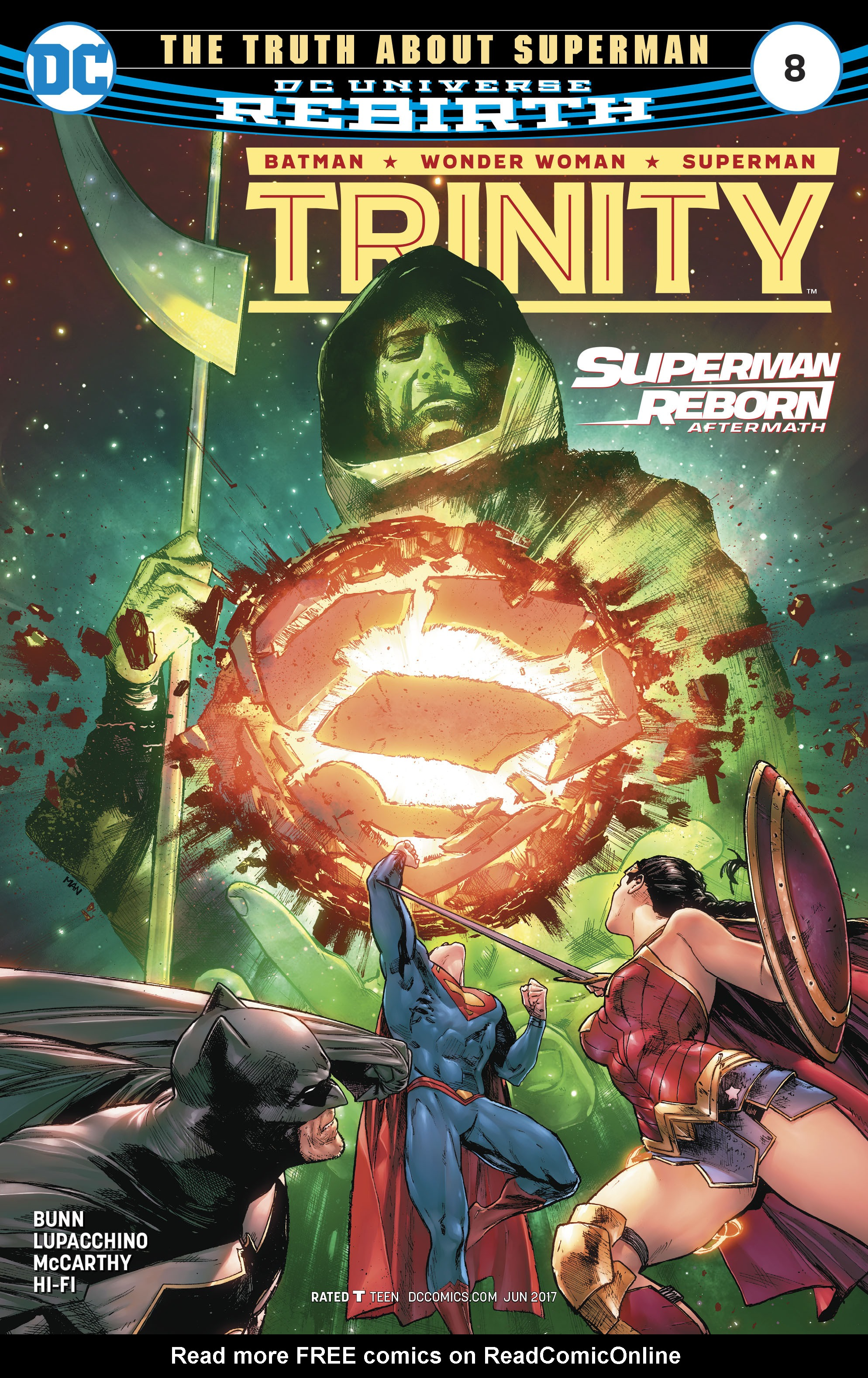 Read online Trinity (2016) comic -  Issue #8 - 1