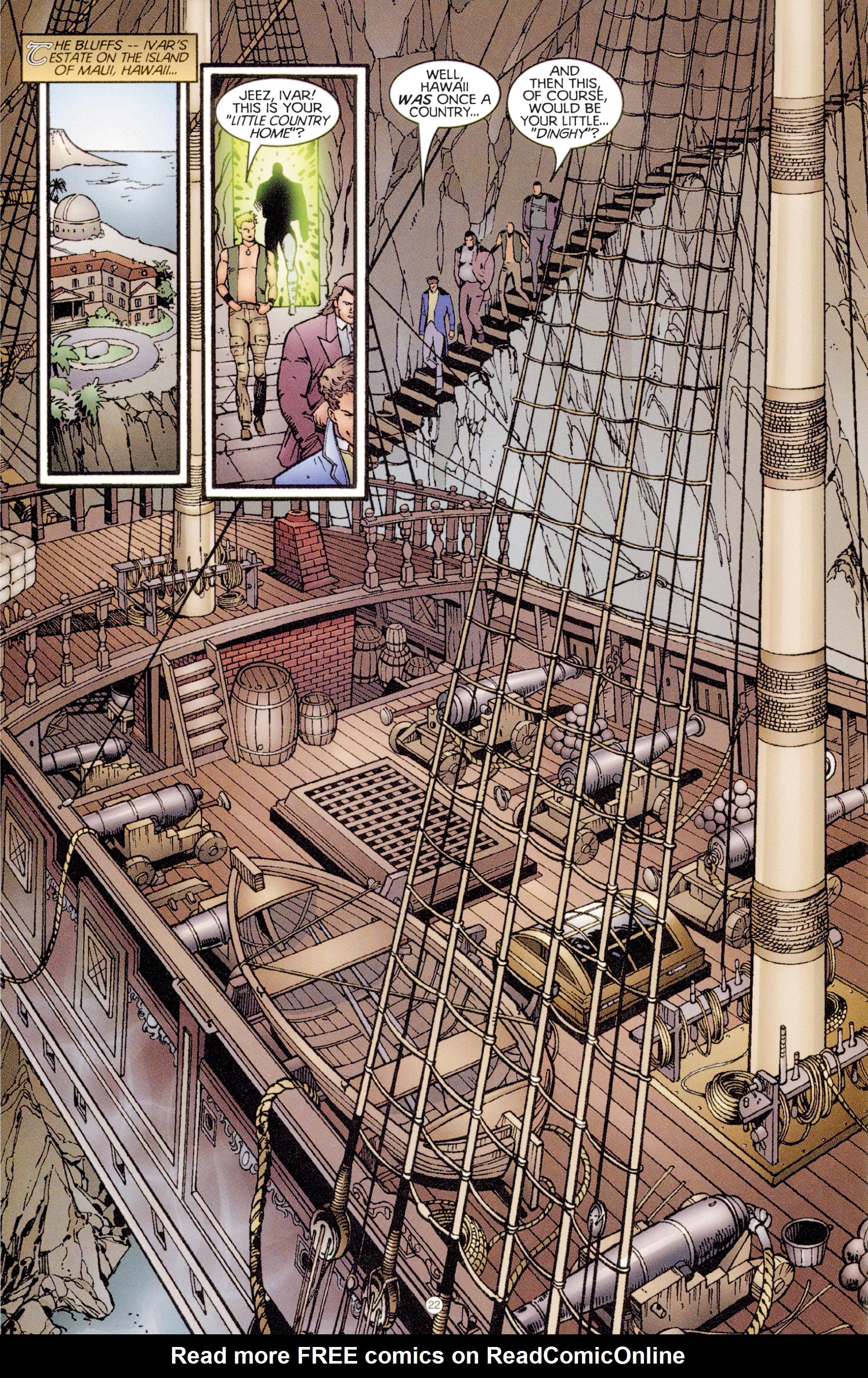 Read online Eternal Warriors comic -  Issue # Issue Digital Alchemy - 20