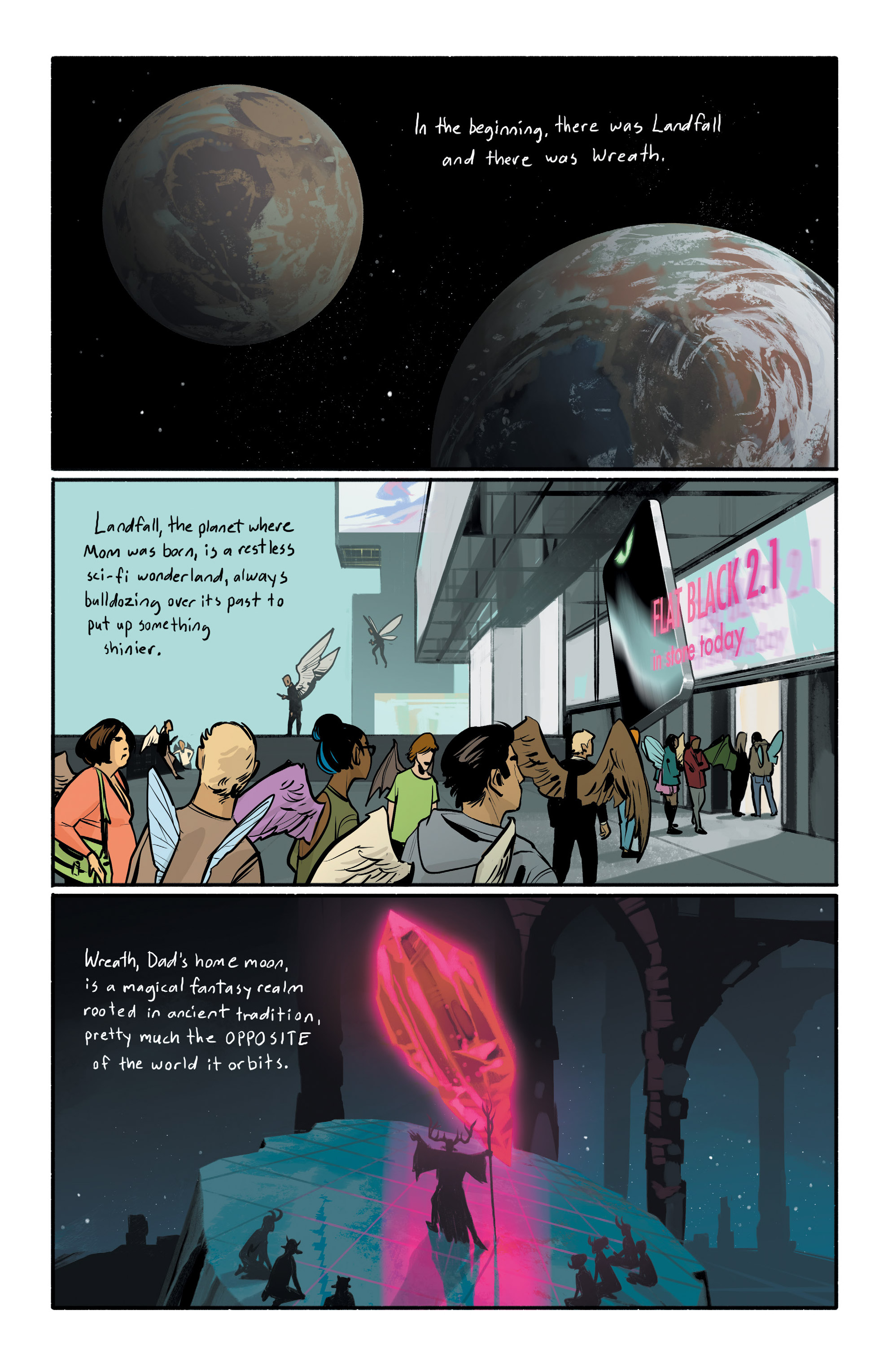 Read online Saga comic -  Issue #43 - 8