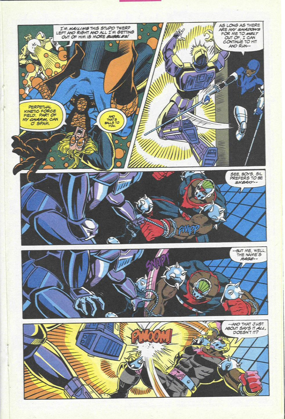 The New Warriors Issue #45 #49 - English 16