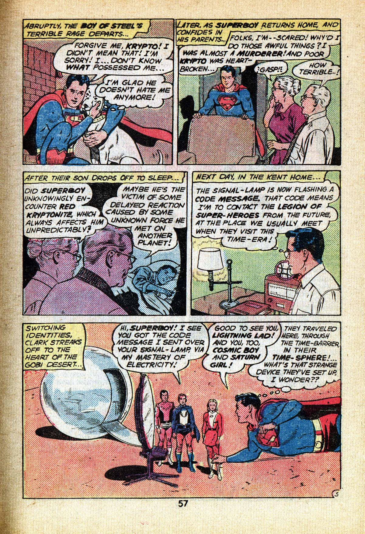 Read online Adventure Comics (1938) comic -  Issue #495 - 57