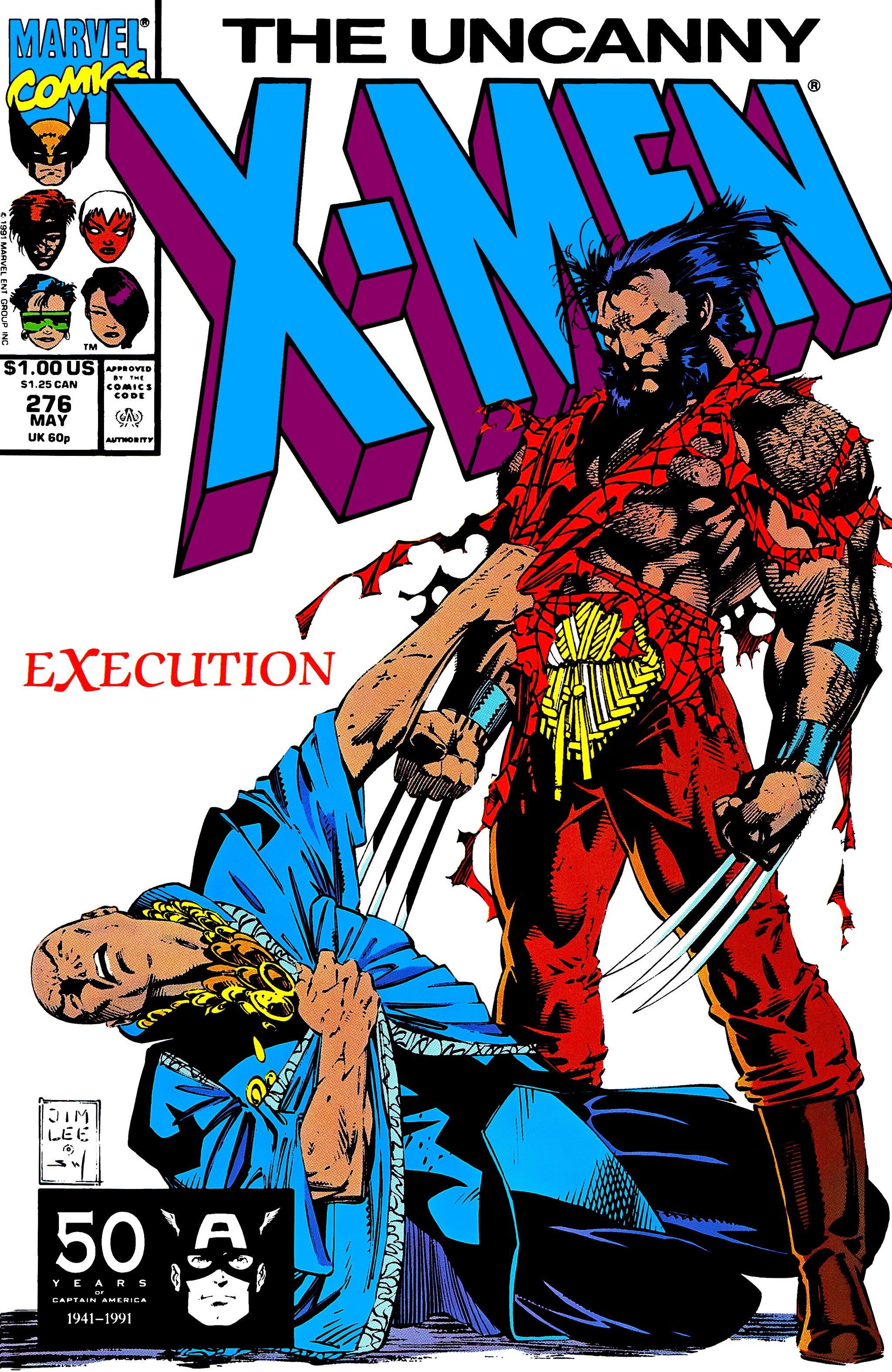 Read online Uncanny X-Men (1963) comic -  Issue #276 - 1