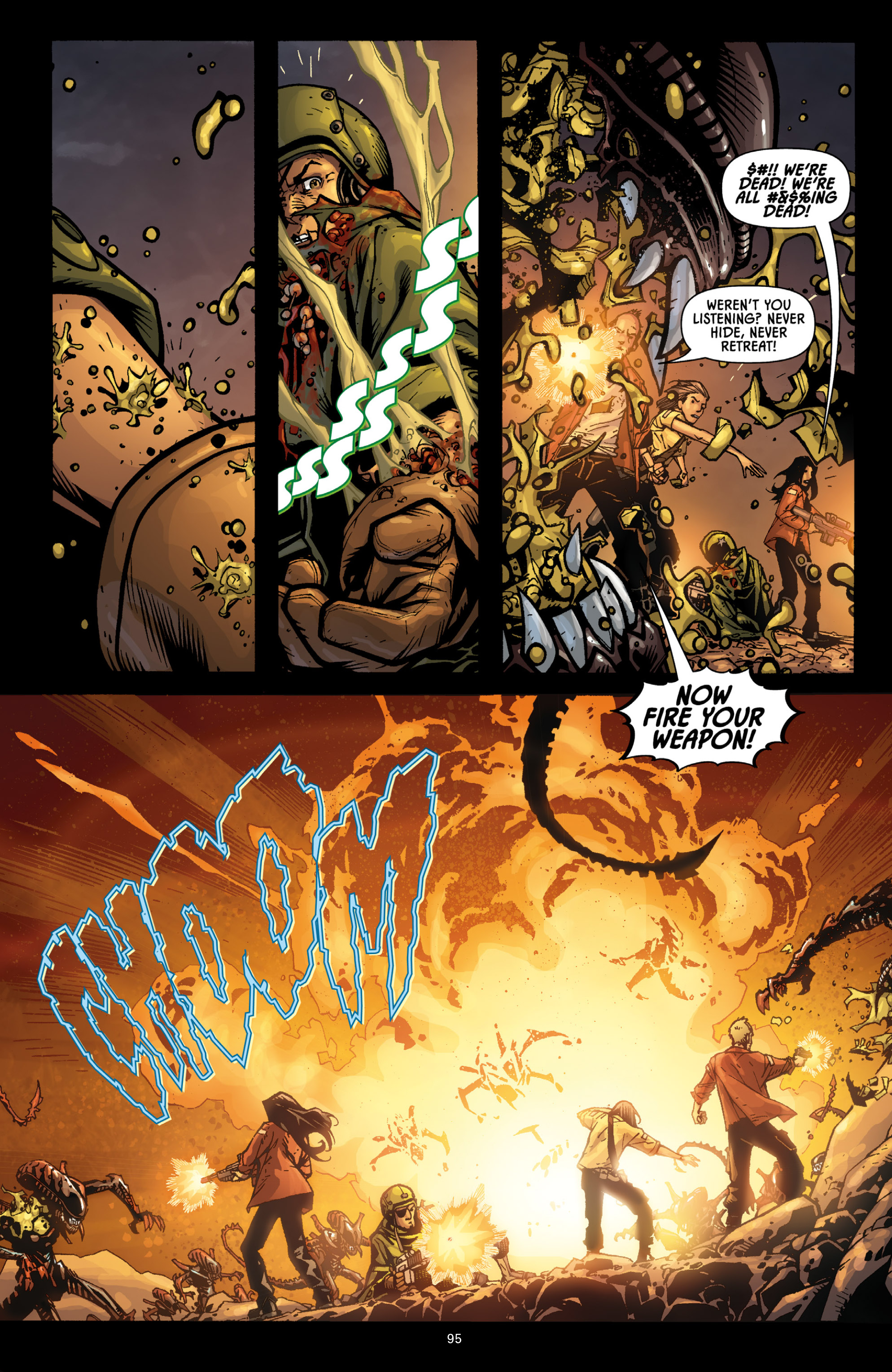 Read online Aliens (2009) comic -  Issue # TPB - 90