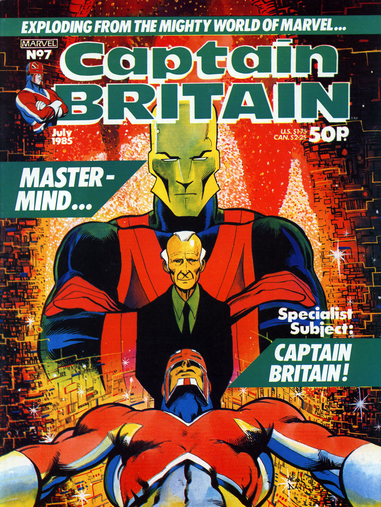 Captain Britain (1985) 7 Page 1