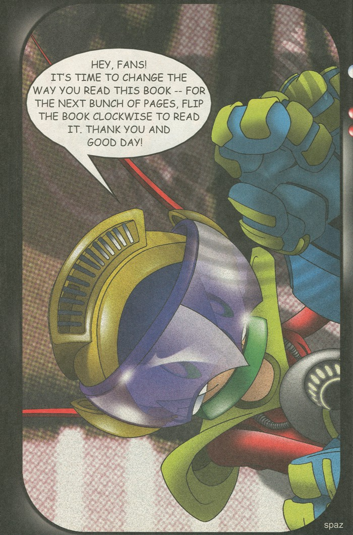 Read online Sonic Super Special comic -  Issue #12 - Sonic and Knuckles visa versa - 3