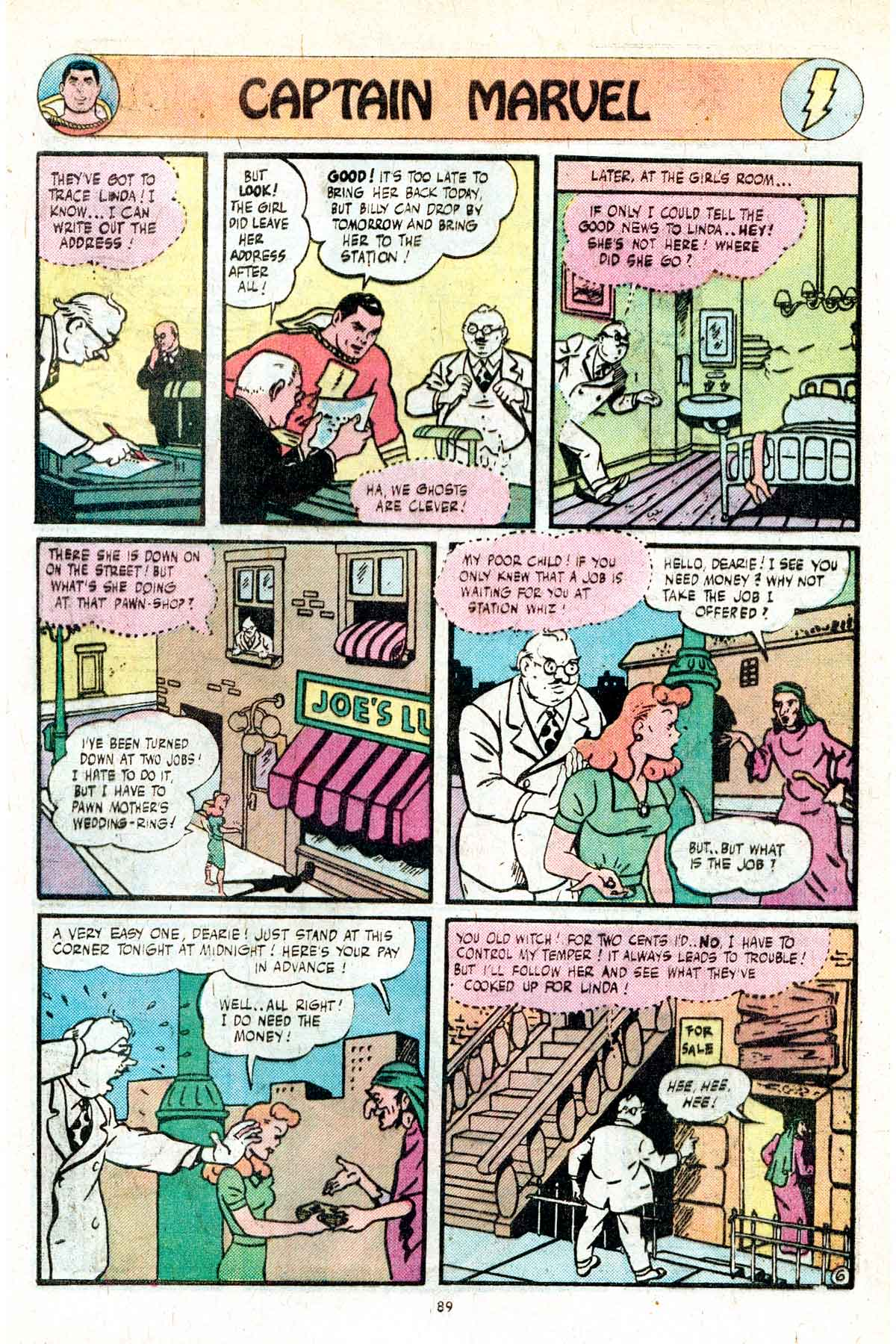 Read online Shazam! (1973) comic -  Issue #17 - 89