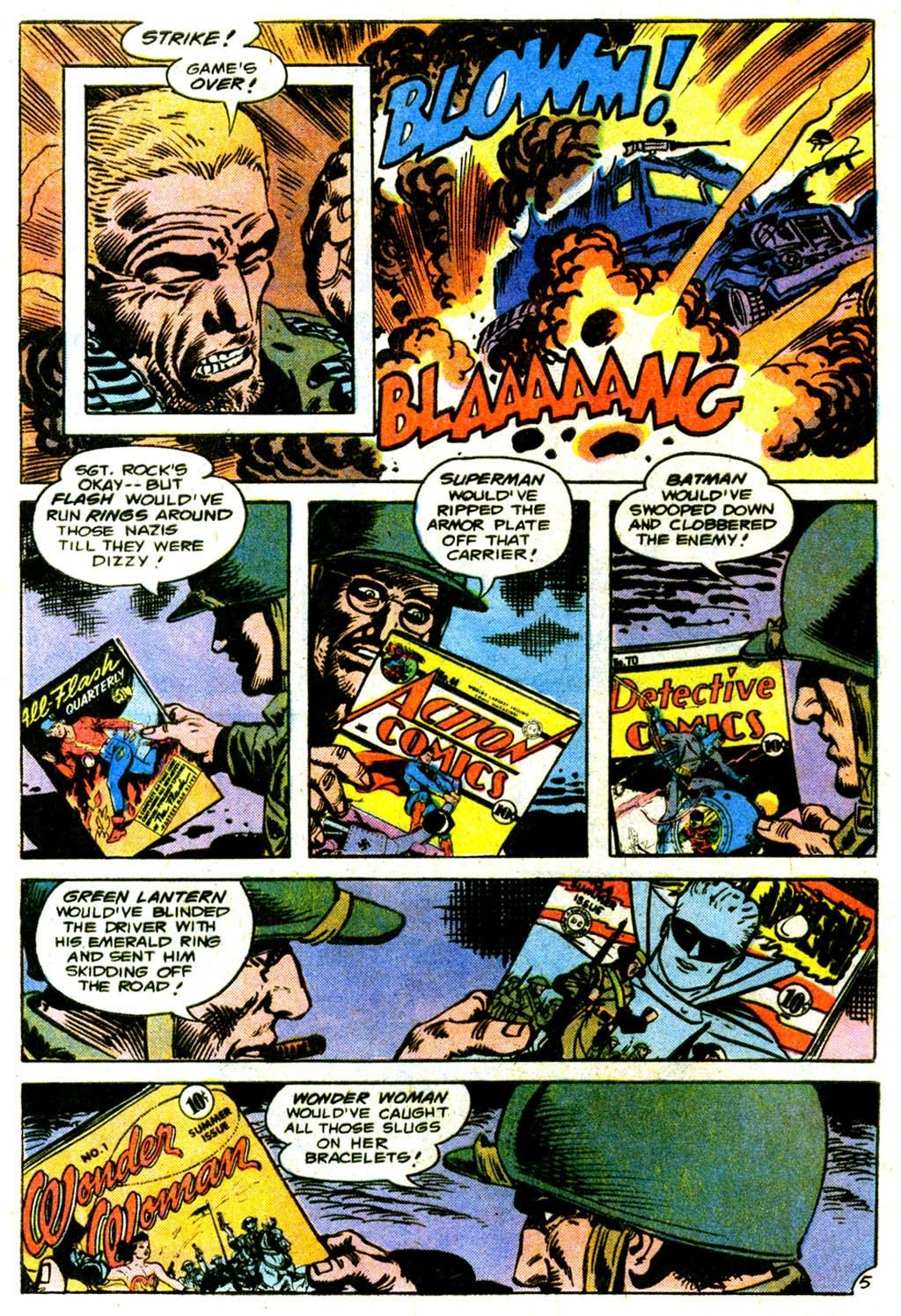 Read online Sgt. Rock comic -  Issue #317 - 8