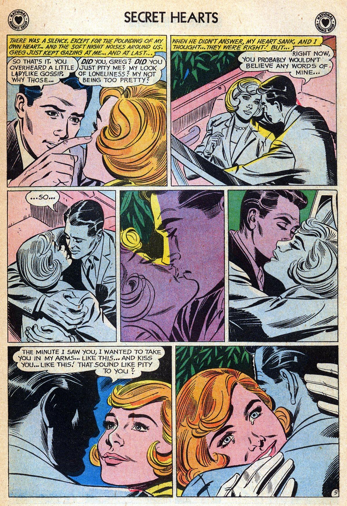 Read online Secret Hearts comic -  Issue #76 - 7