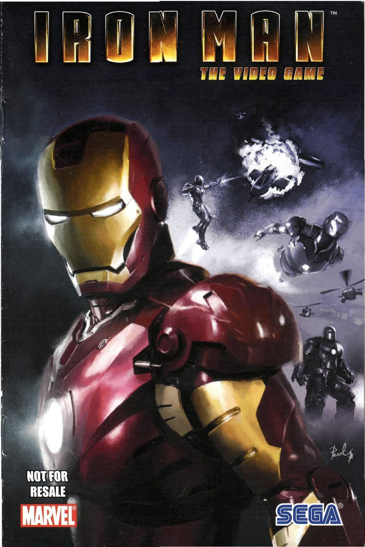 Read online Sega Iron Man Special comic -  Issue # Full - 1