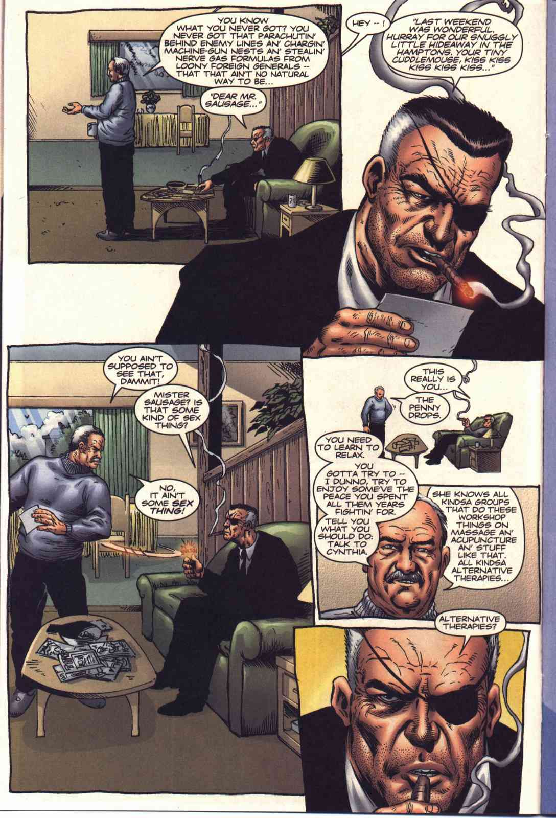 Read online Fury comic -  Issue #2 - 9