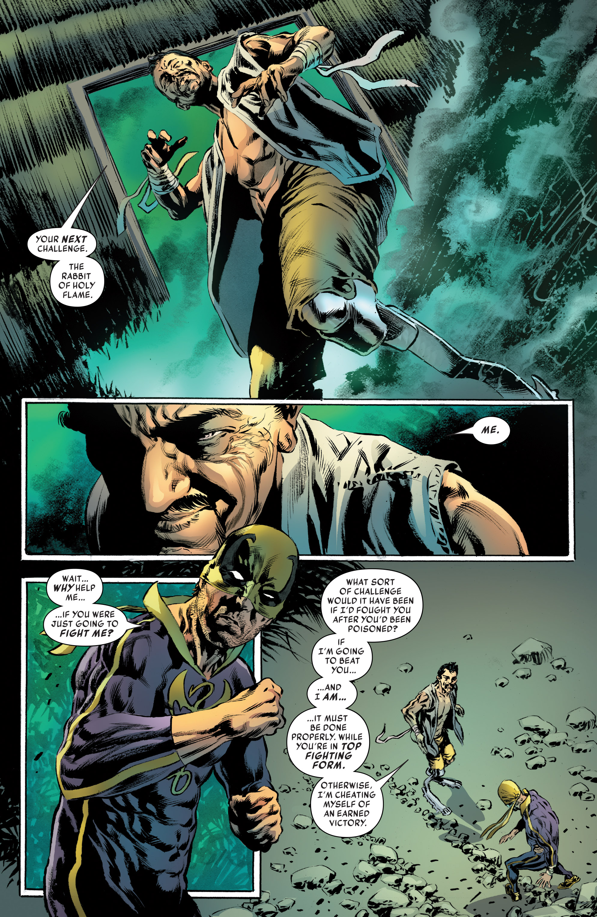 Read online Iron Fist (2017) comic -  Issue #4 - 13