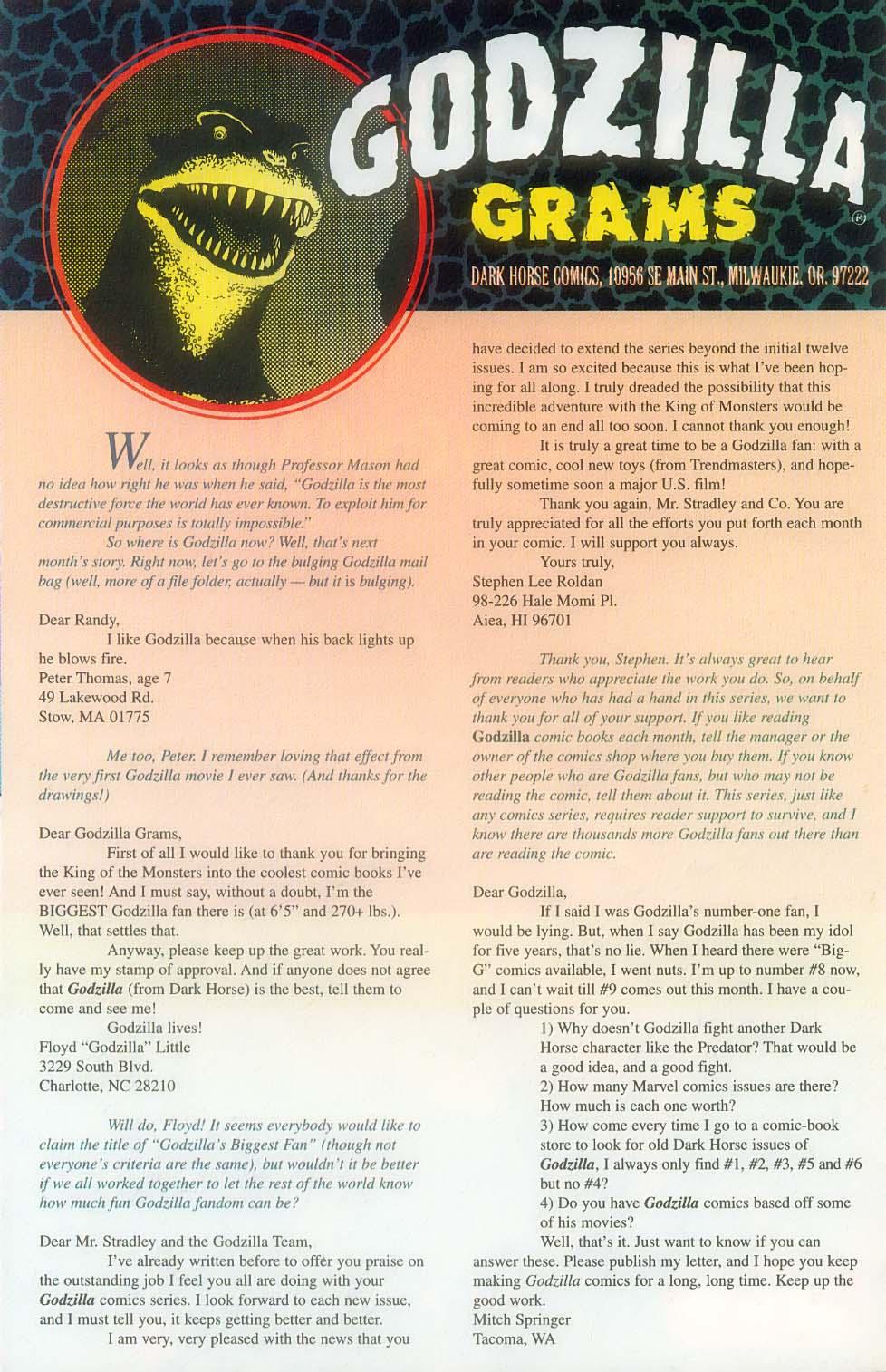 Godzilla (1995) Issue #12 #13 - English 28