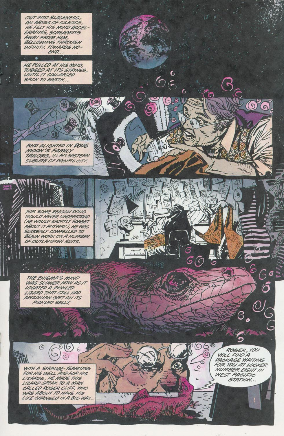 Read online Enigma comic -  Issue #8 - 16