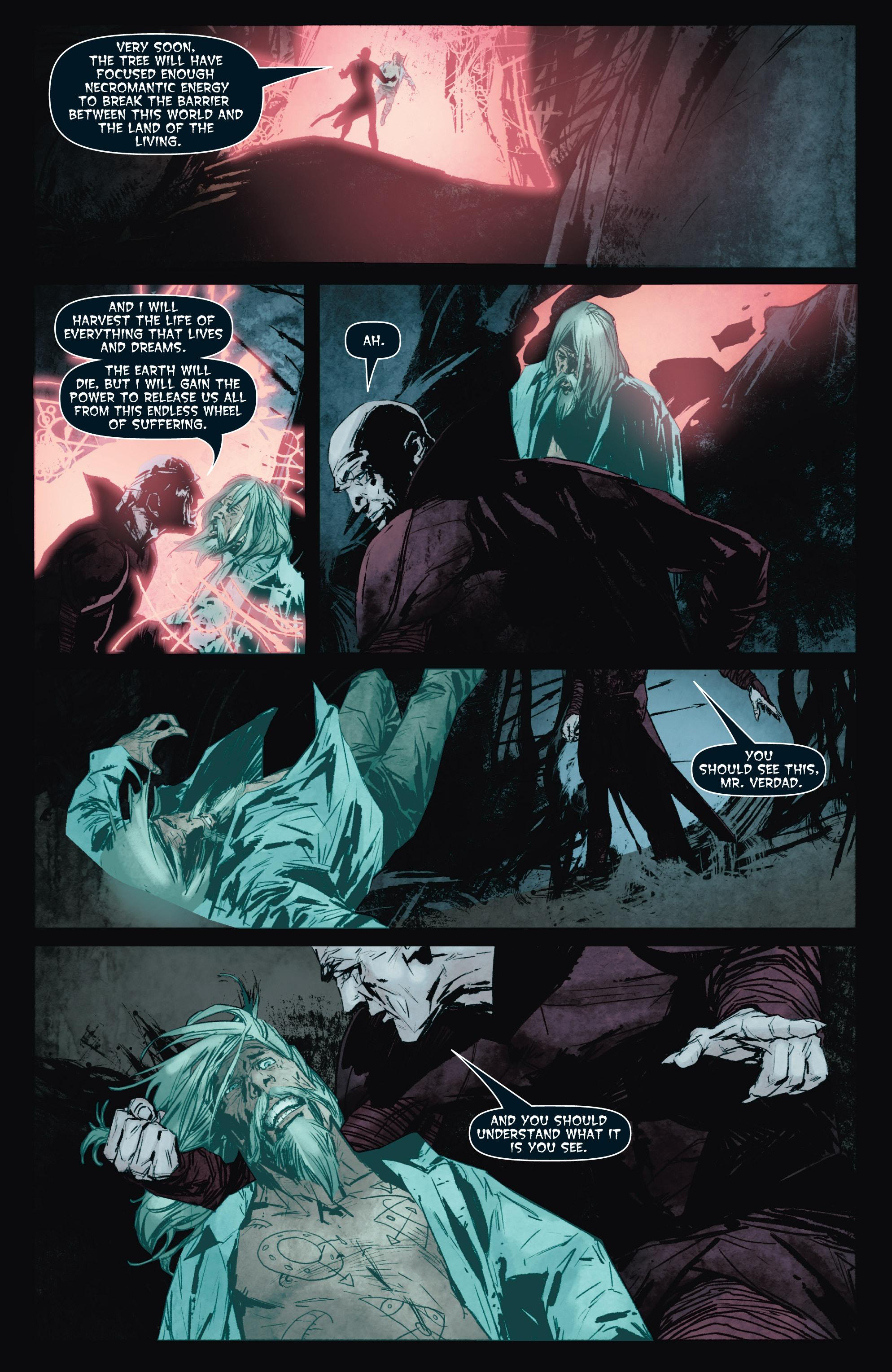 Read online Shadowman (2012) comic -  Issue #8 - 21