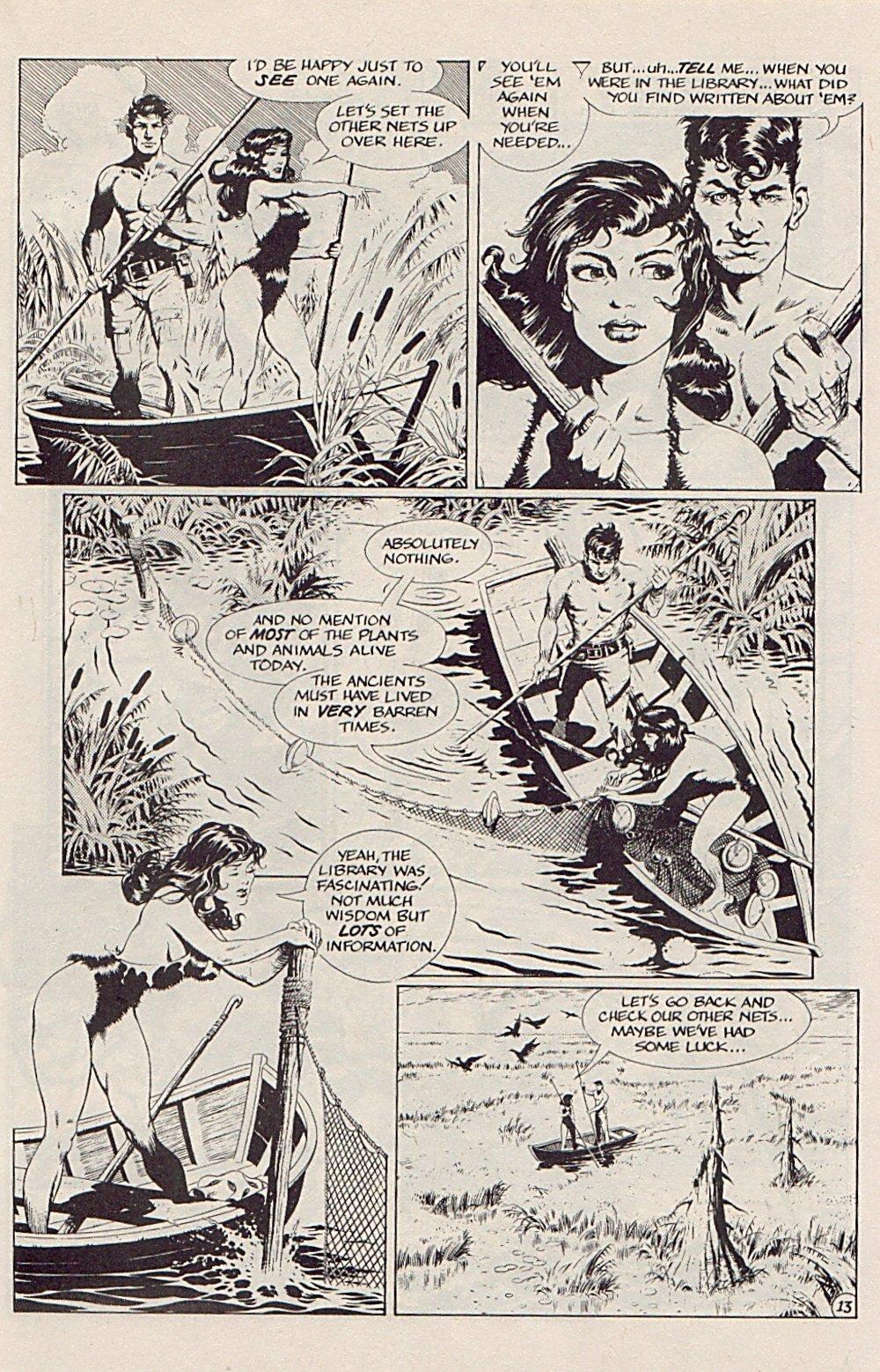 Read online Xenozoic Tales comic -  Issue #5 - 16