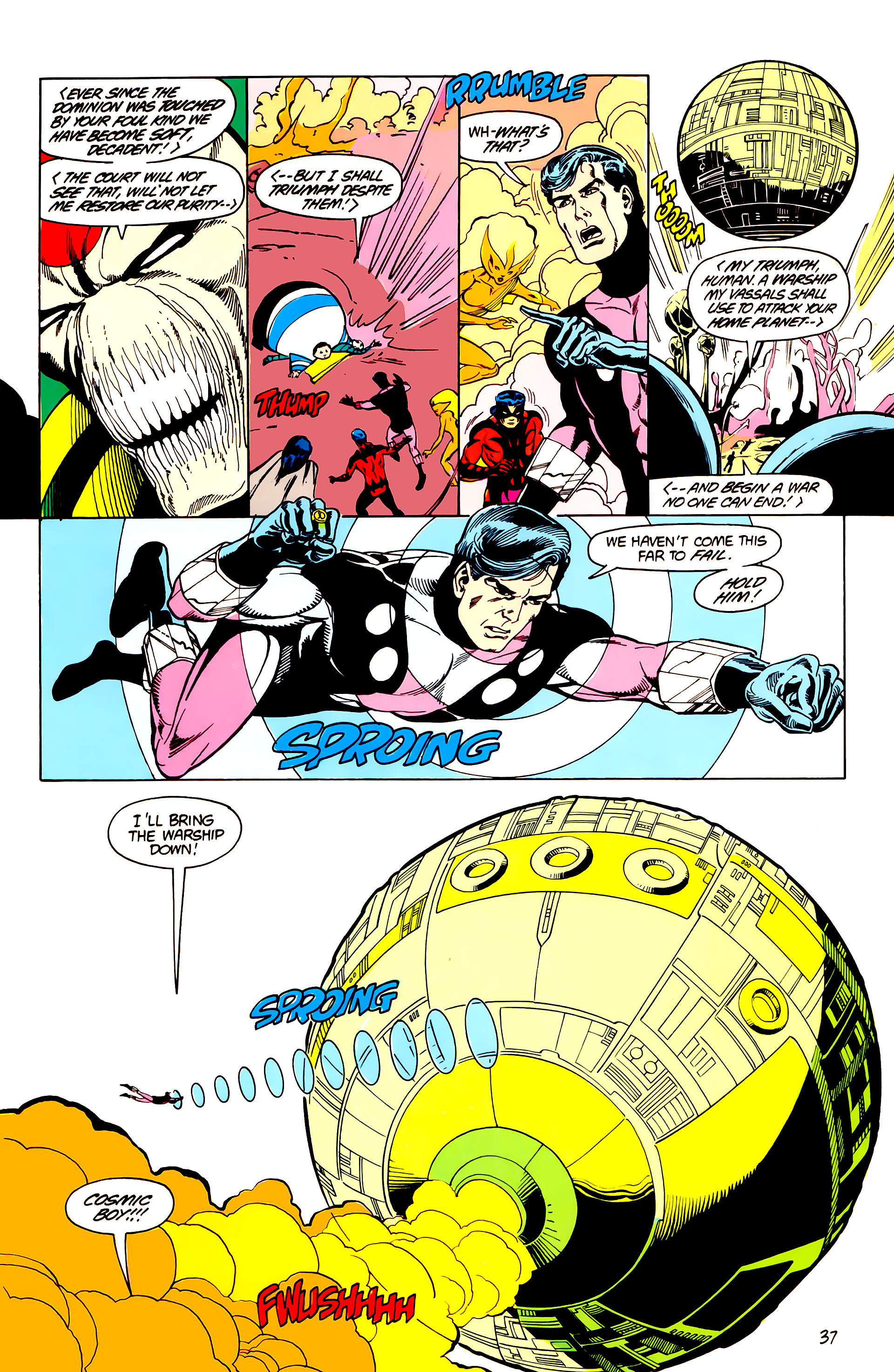 Legion of Super-Heroes (1984) _Annual_3 Page 37