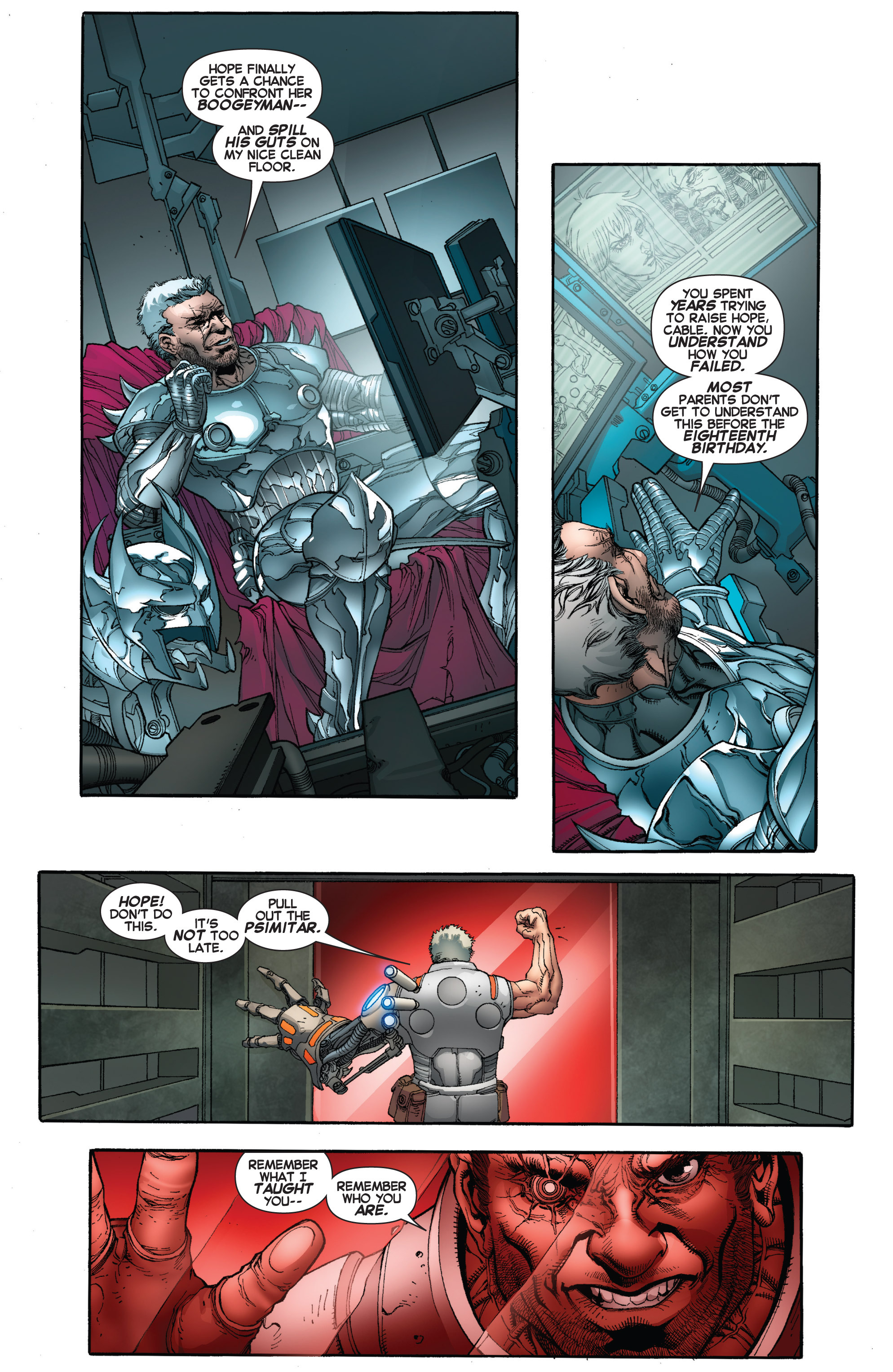 Read online Uncanny X-Force (2013) comic -  Issue #17 - 4