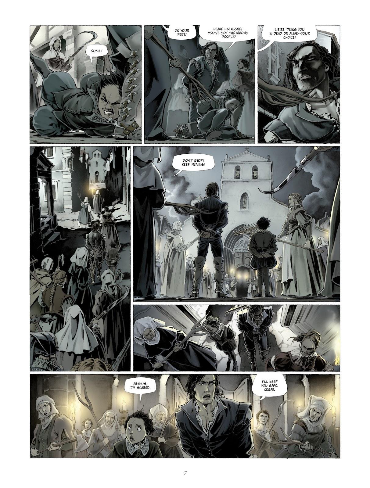 Read online Arthus Trivium comic -  Issue #4 - 9