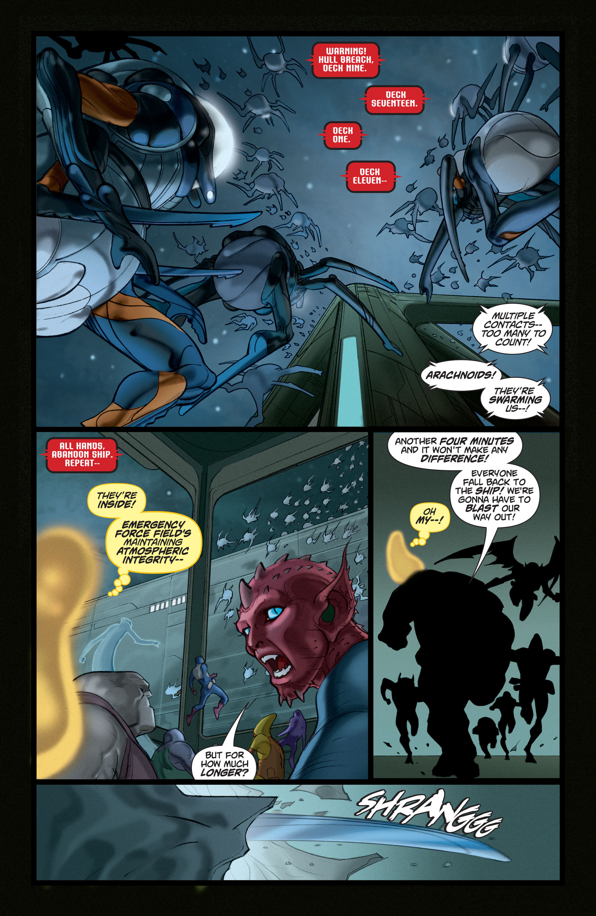 Read online Adam Strange (2004) comic -  Issue #5 - 8