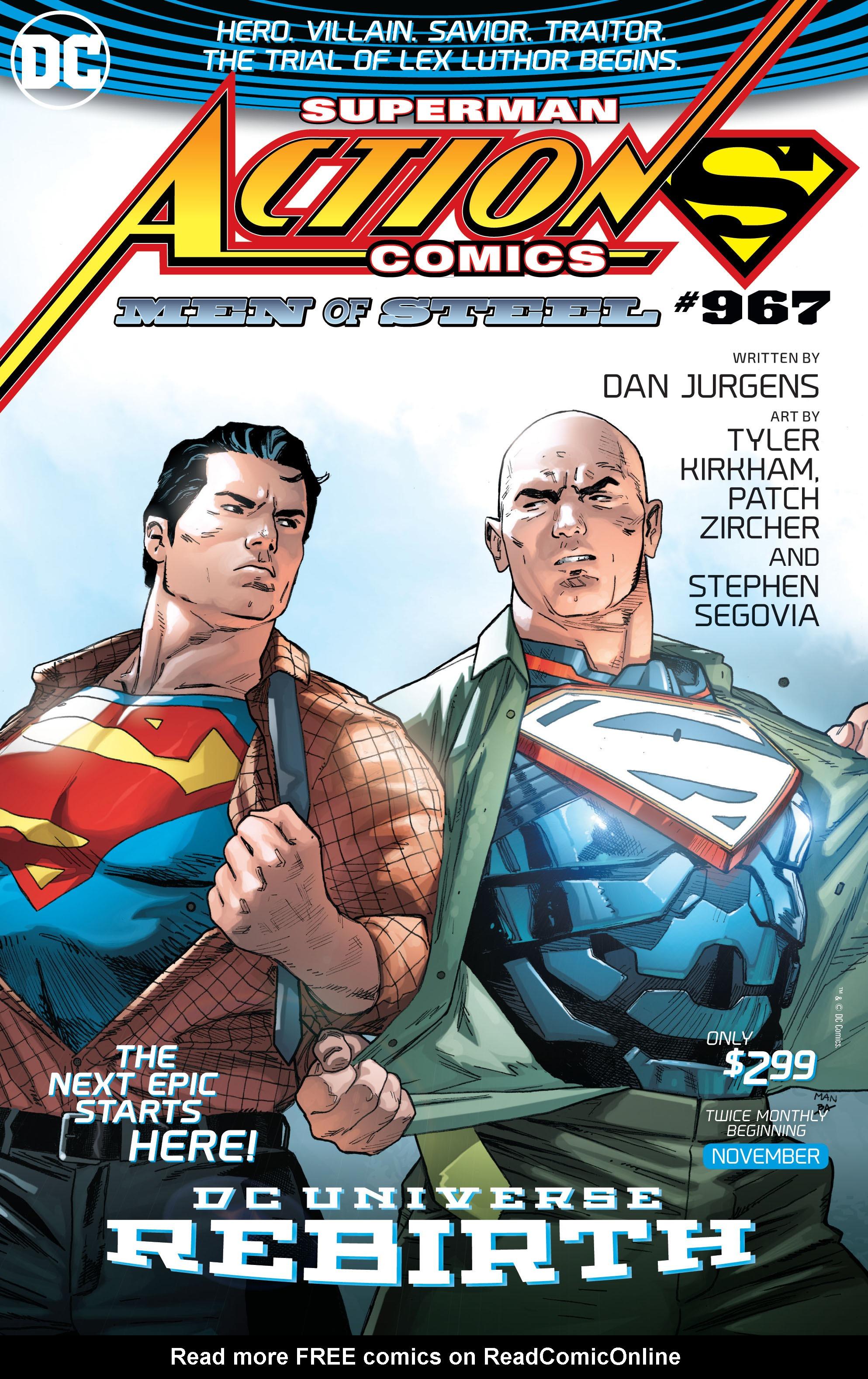Read online Aquaman (2016) comic -  Issue #9 - 23
