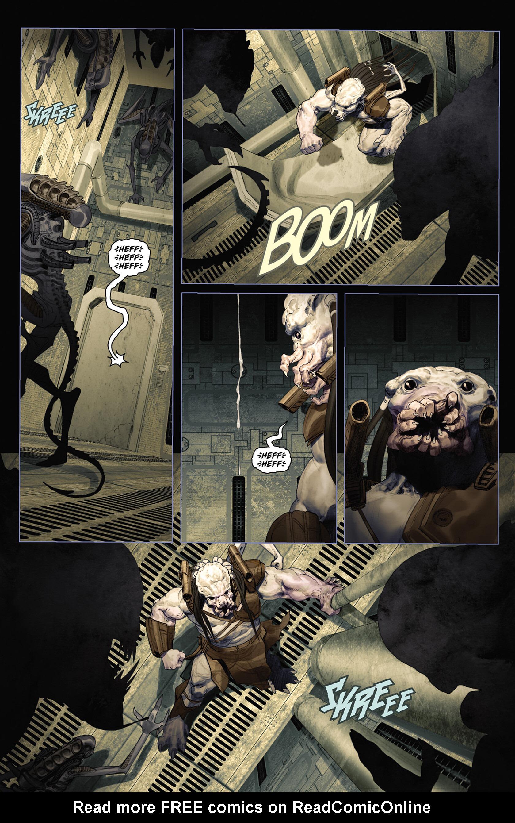 Read online Alien vs. Predator: Fire and Stone comic -  Issue #3 - 14