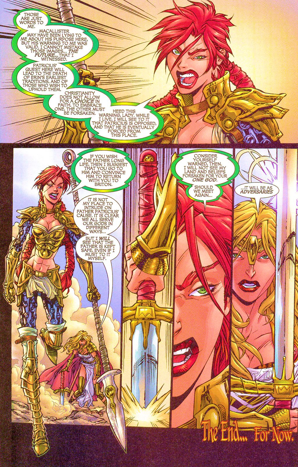 Read online Lady Pendragon / More Than Mortal comic -  Issue #1 - 28