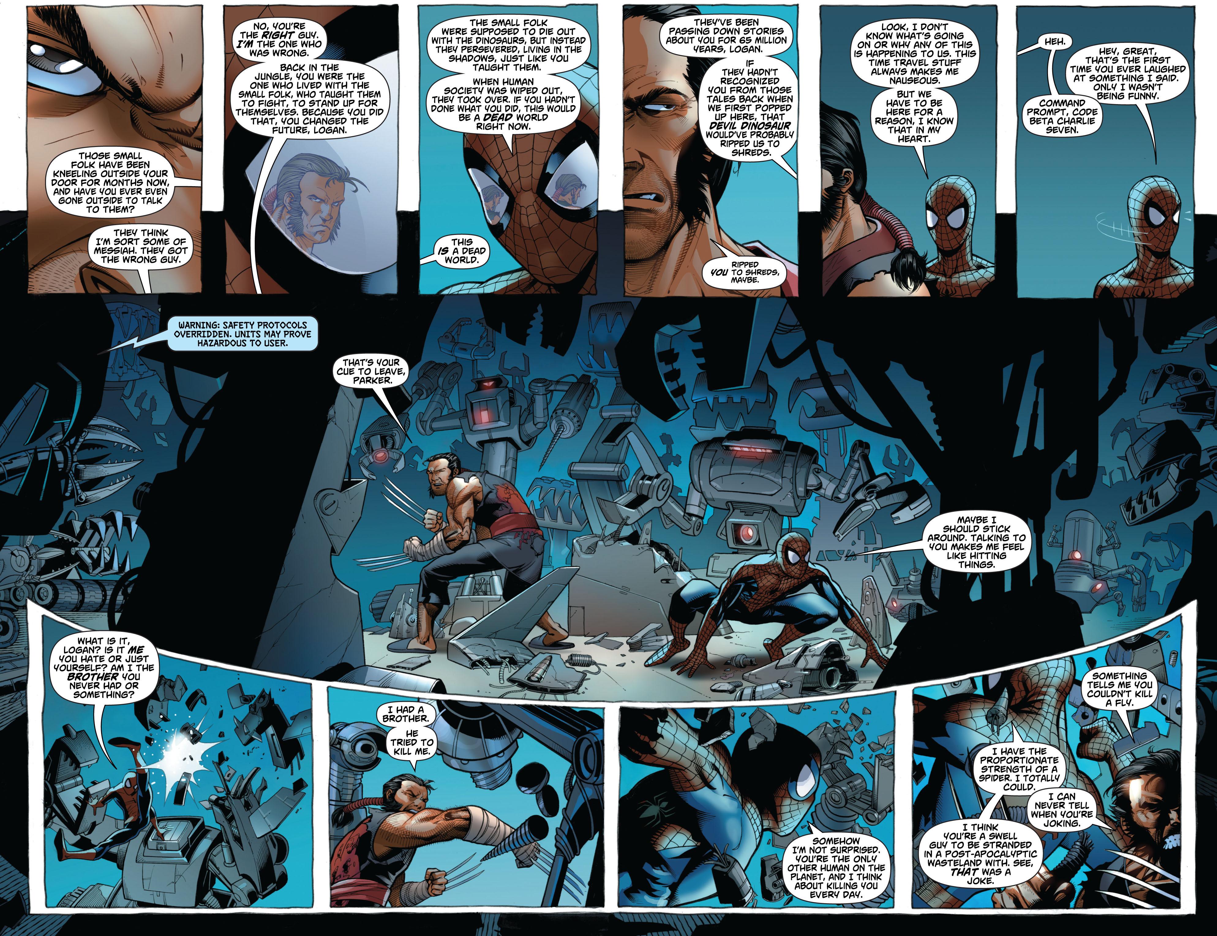 Read online Astonishing Spider-Man & Wolverine comic -  Issue #2 - 10
