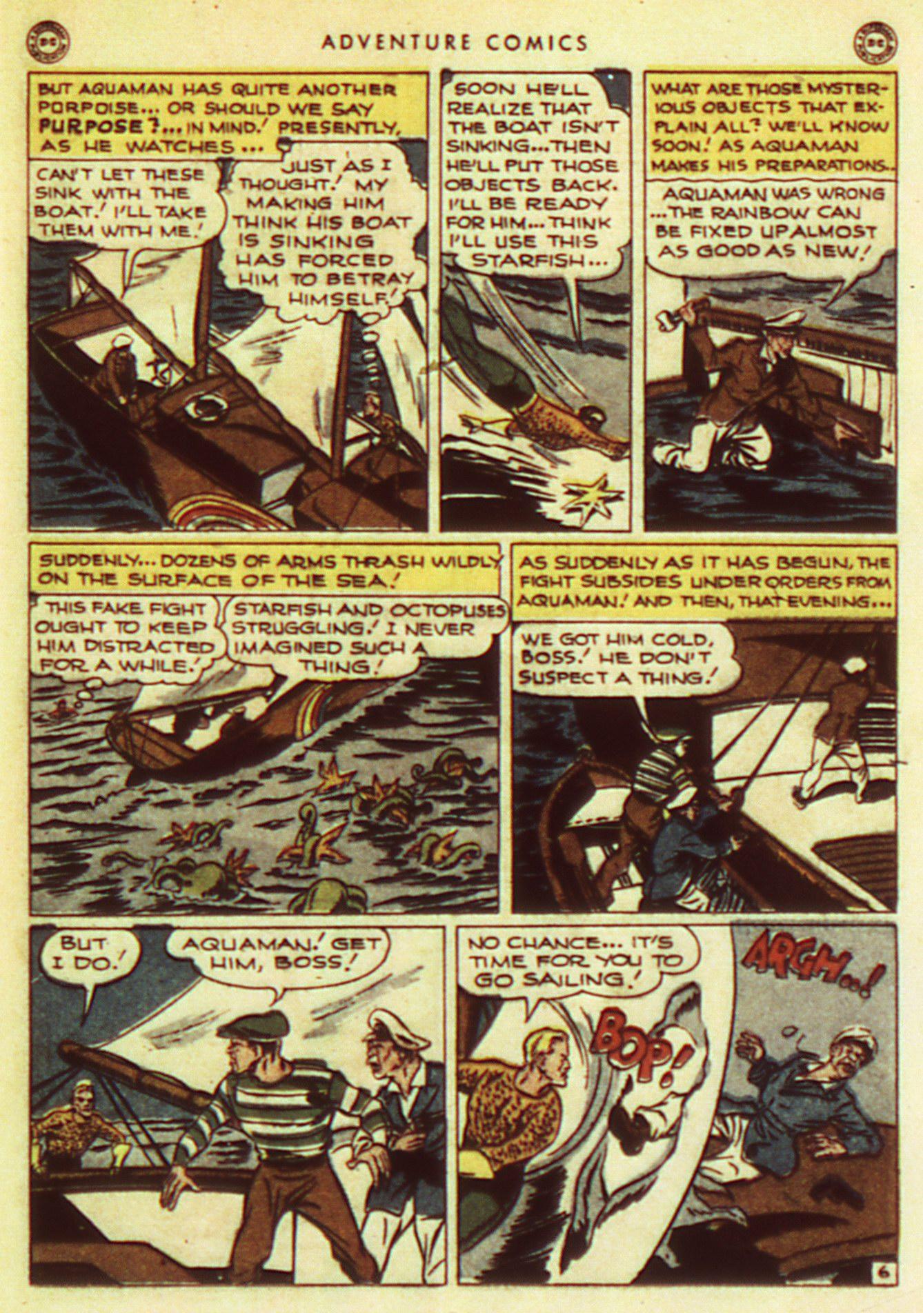 Read online Adventure Comics (1938) comic -  Issue #105 - 37