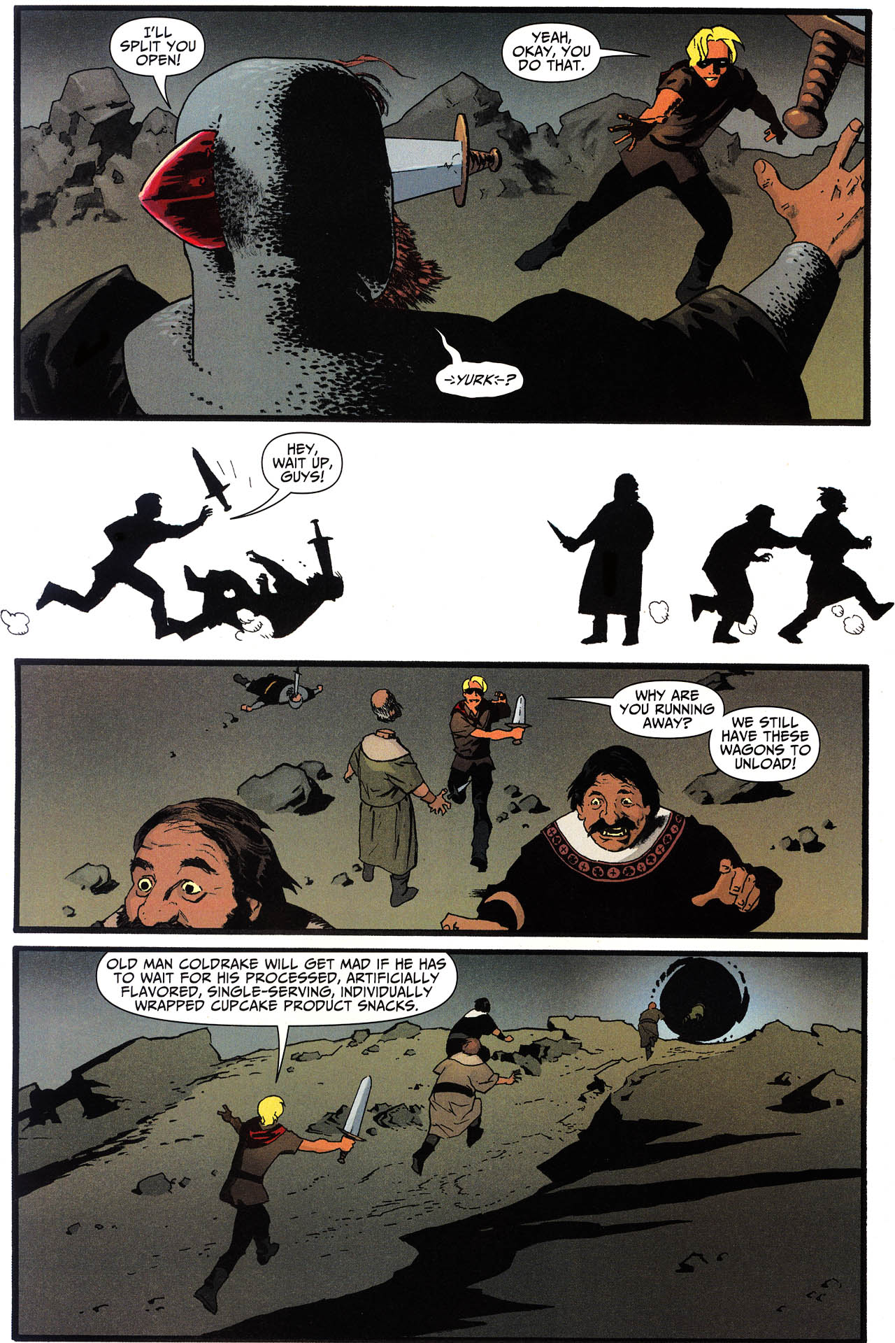Read online Shadowpact comic -  Issue #13 - 8