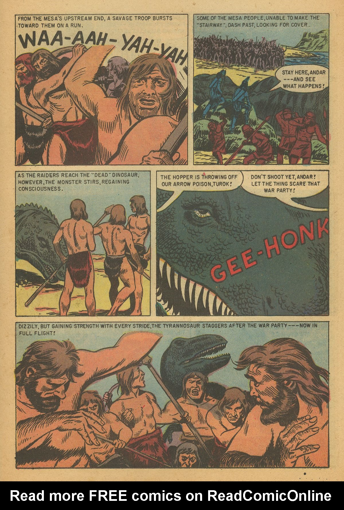 Read online Turok, Son of Stone comic -  Issue #7 - 25