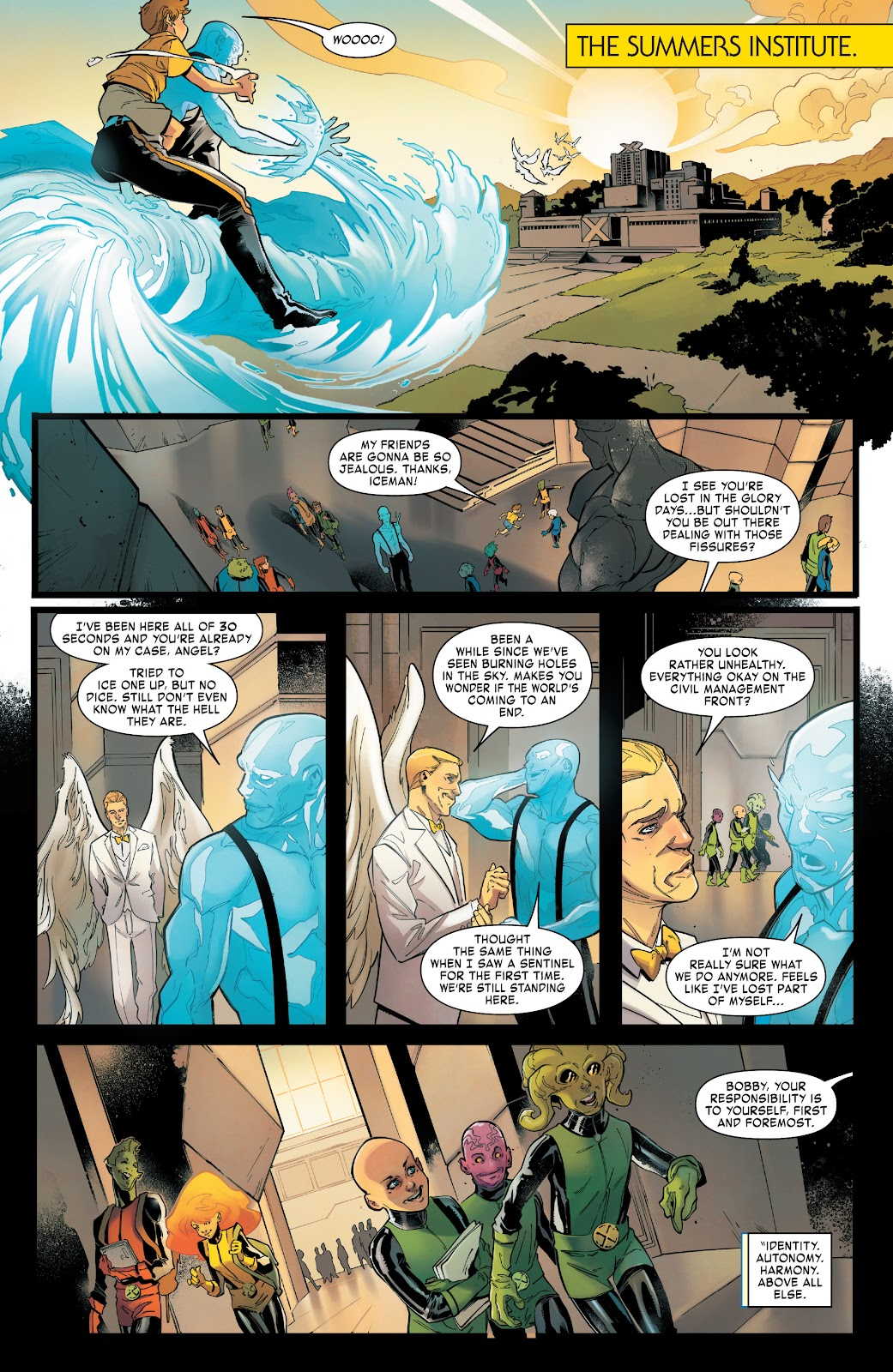 Read online Age of X-Man Omega comic -  Issue # Full - 7