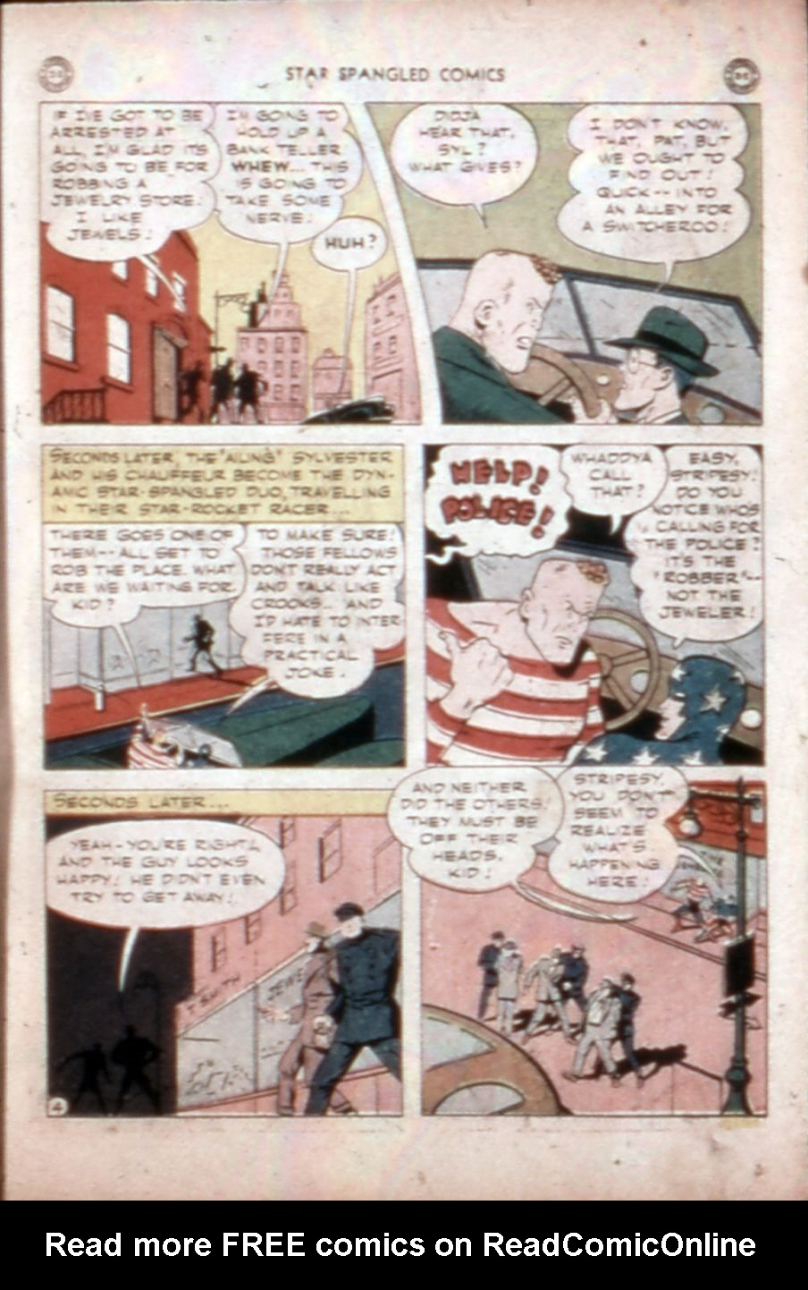 Star Spangled Comics (1941) issue 43 - Page 32