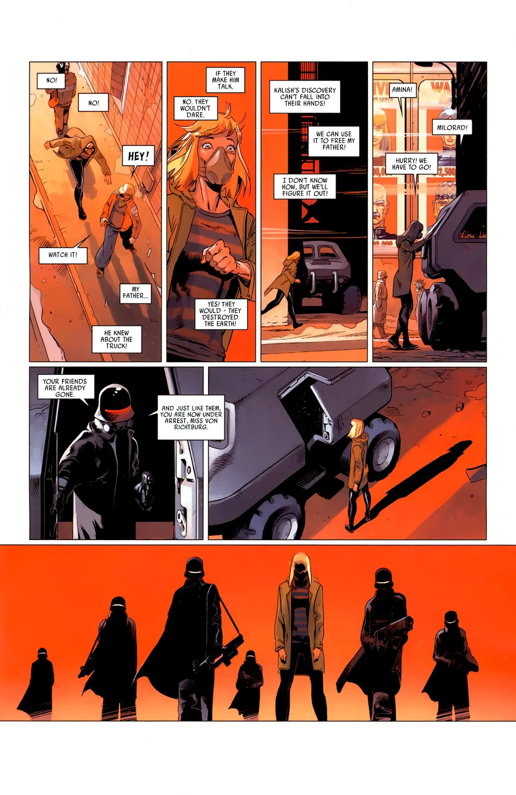Read online Universal War One: Revelations comic -  Issue #3 - 21