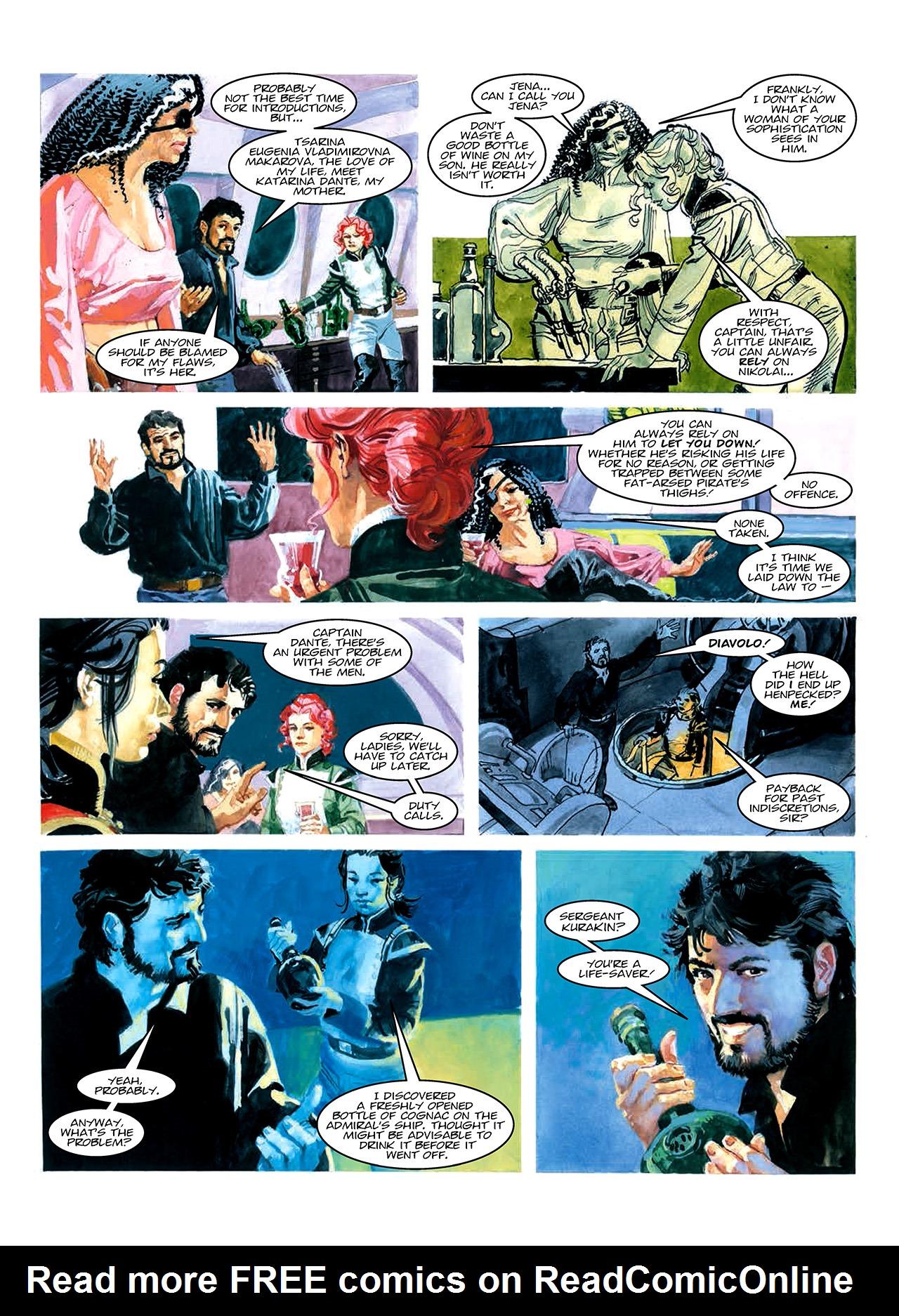 Read online Nikolai Dante comic -  Issue # TPB 10 - 30