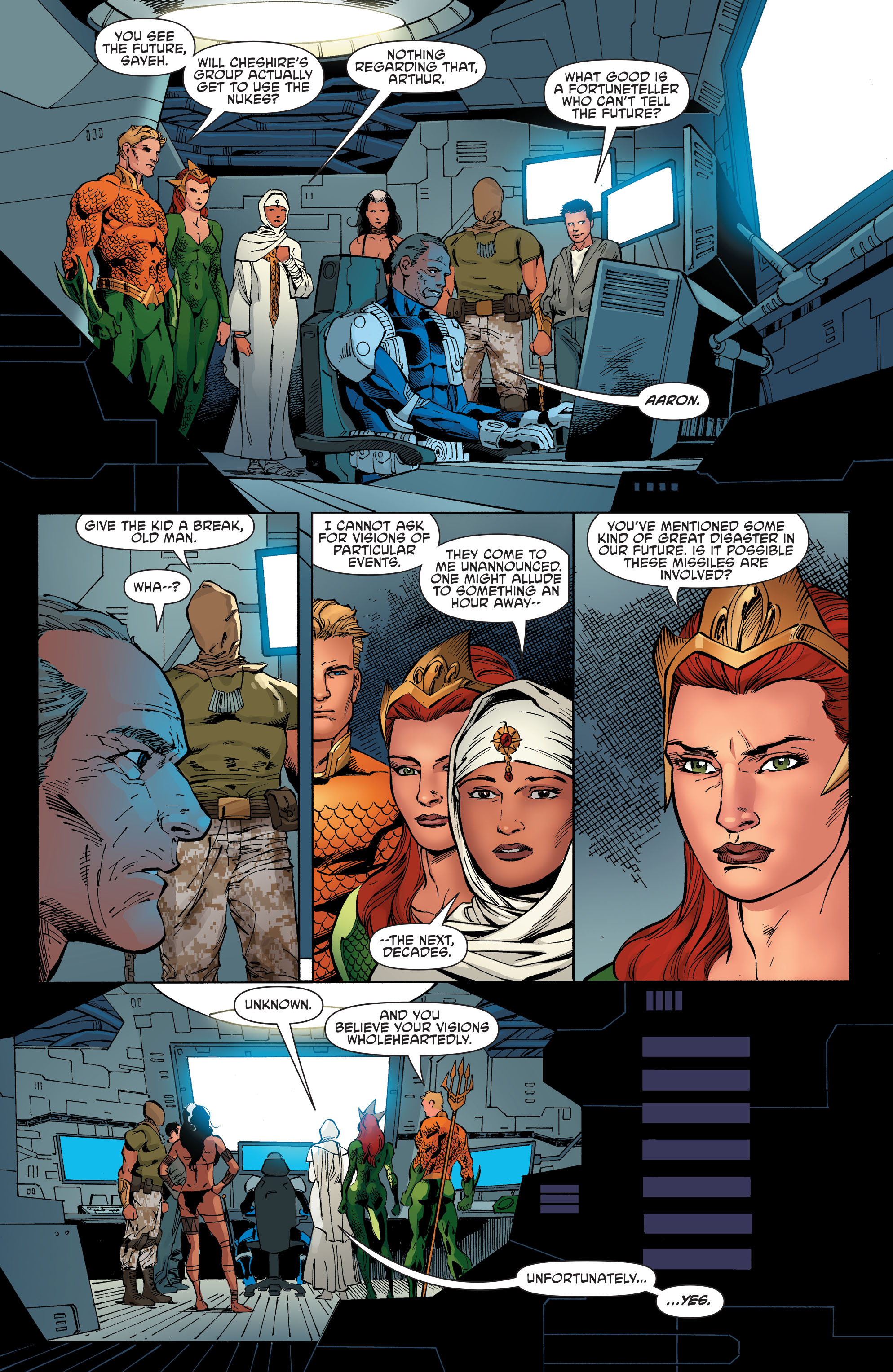 Read online Aquaman and the Others comic -  Issue #8 - 14