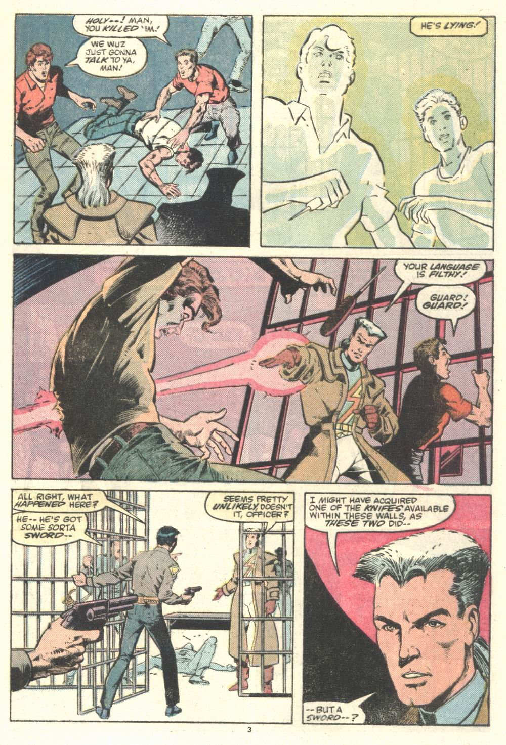 Read online Justice (1986) comic -  Issue #2 - 4