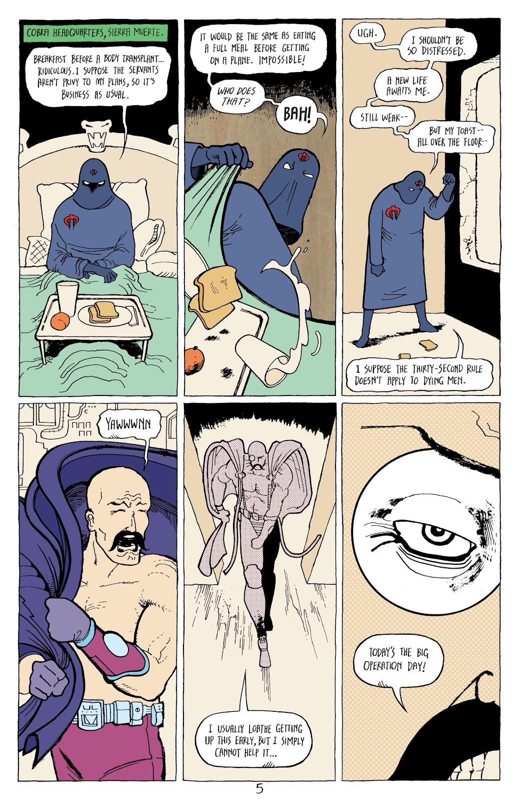 Read online G.I. Joe: Sierra Muerte comic -  Issue #3 - 7