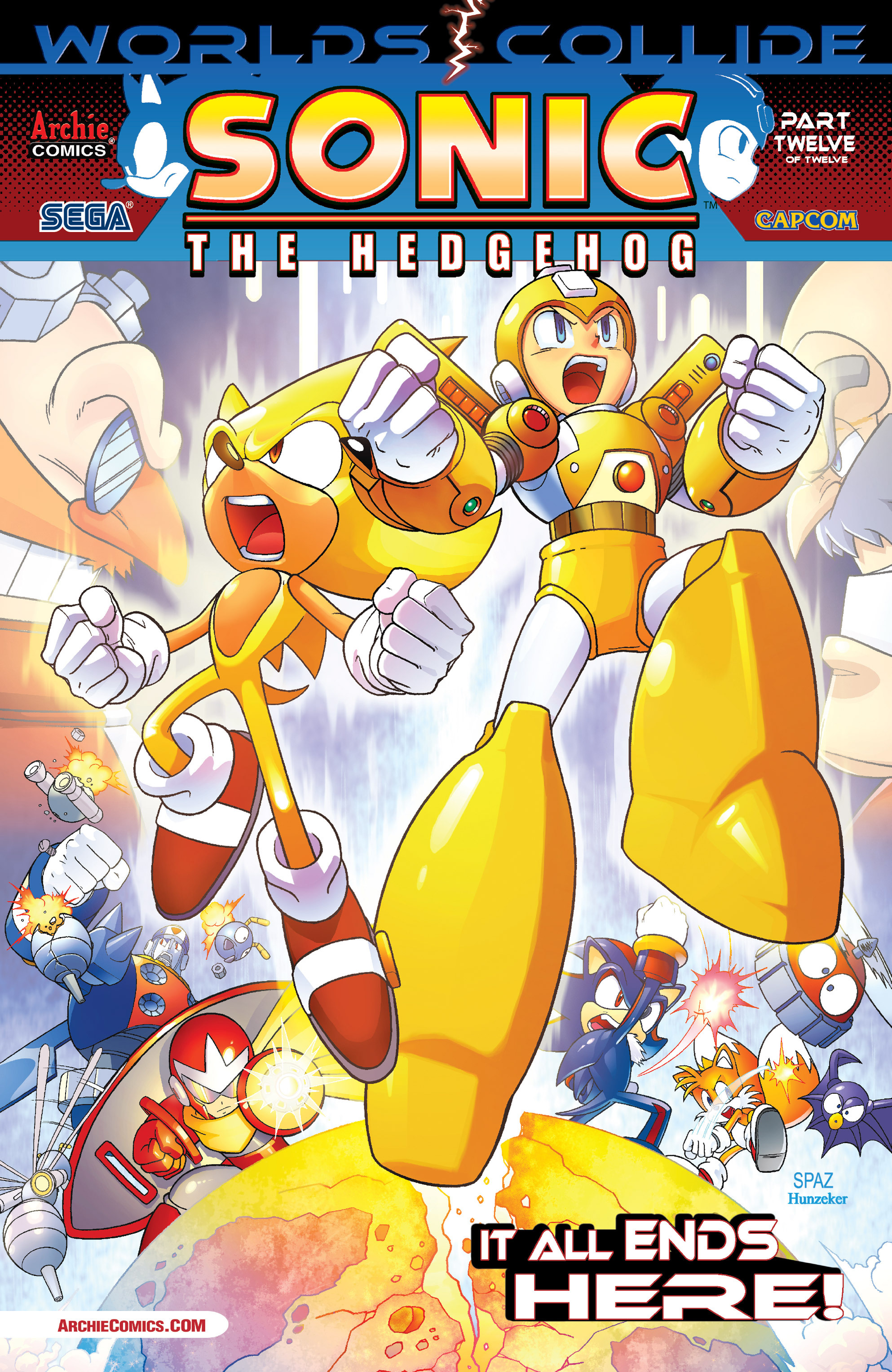 Read online Sonic Mega Man Worlds Collide comic -  Issue # Vol 3 - 94