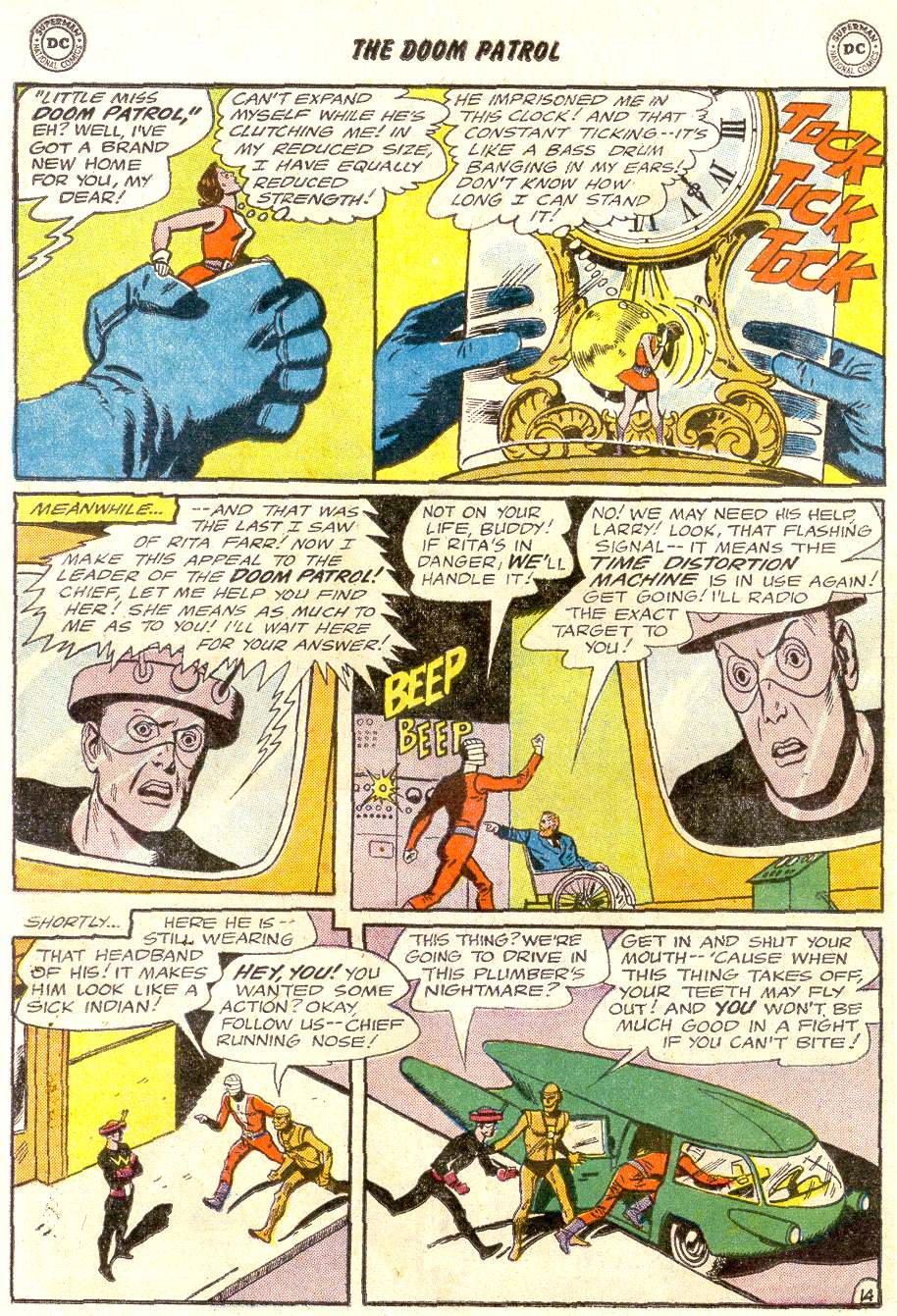 Doom Patrol (1964) issue 92 - Page 18