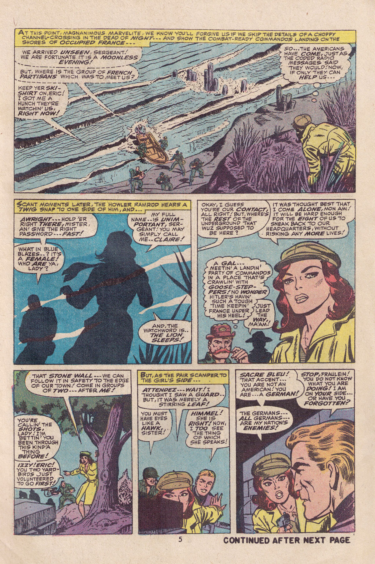 Read online Sgt. Fury comic -  Issue #113 - 7
