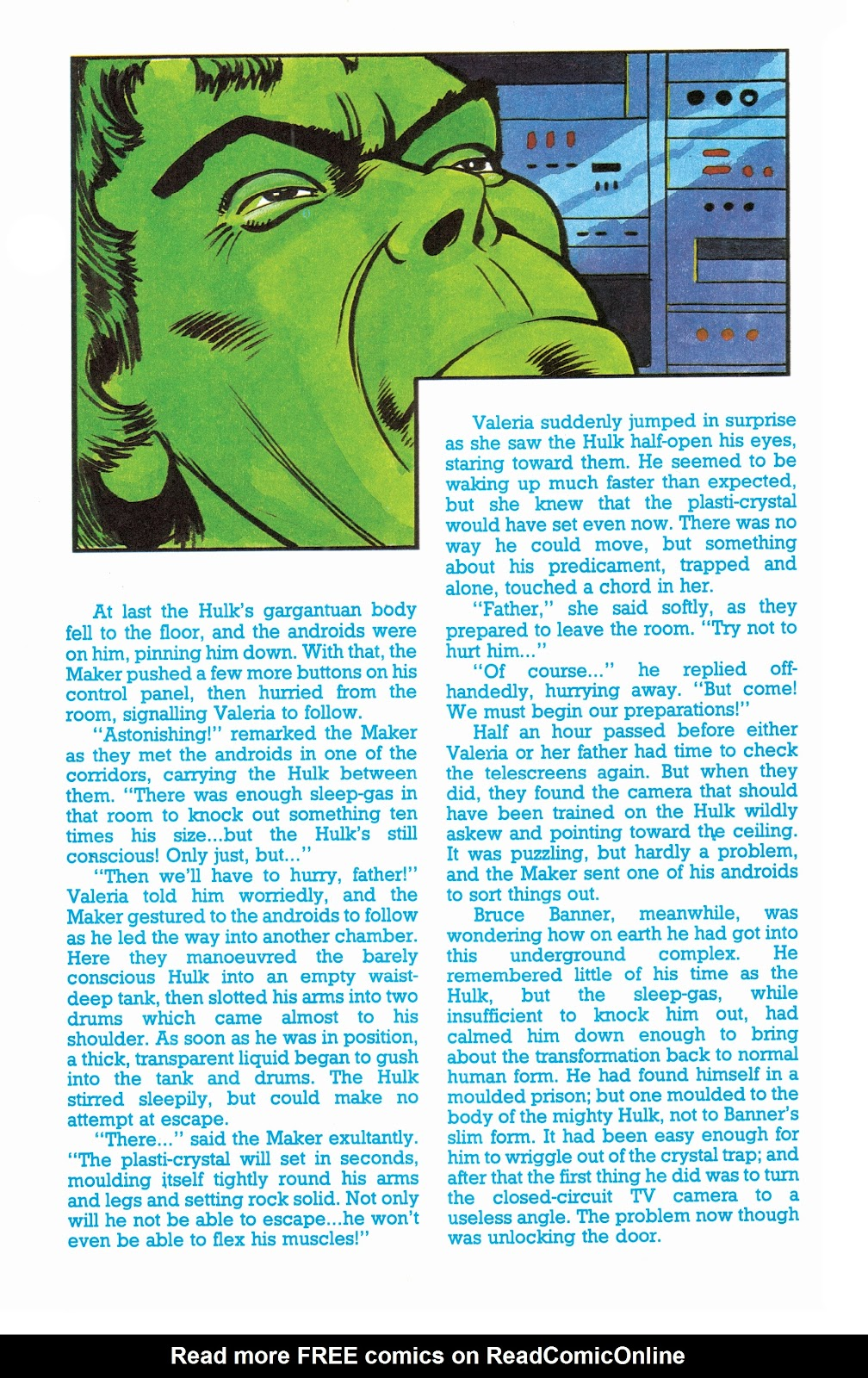Read online Hulk: From The Marvel UK Vaults comic -  Issue # TPB (Part 3) - 21