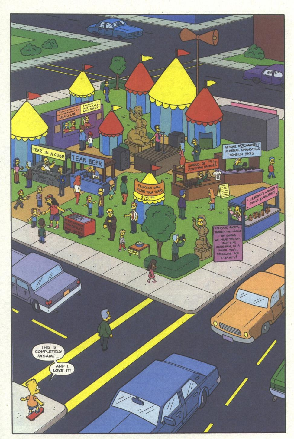 Read online Simpsons Comics comic -  Issue #19 - 13