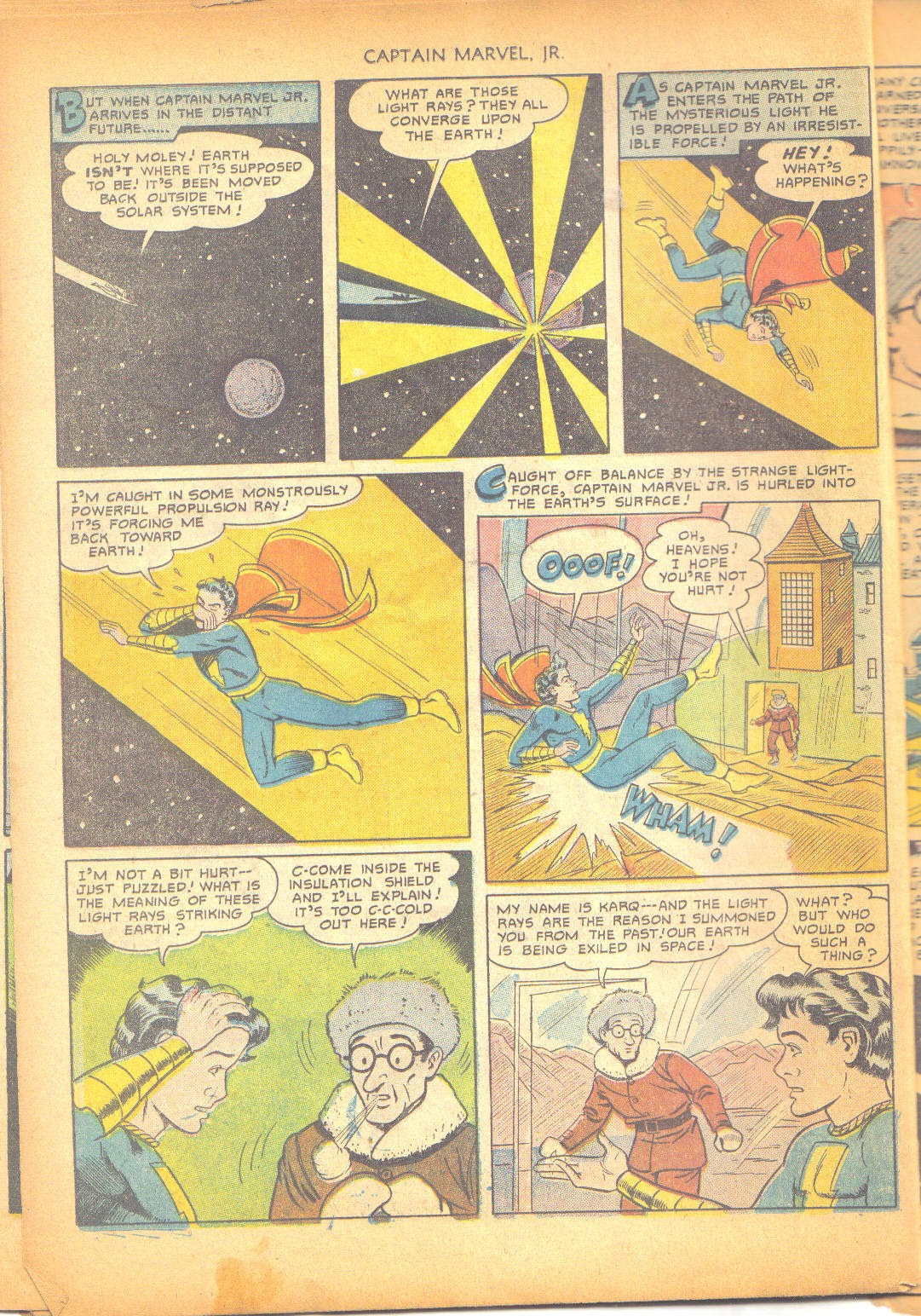 Captain Marvel, Jr. issue 95 - Page 37