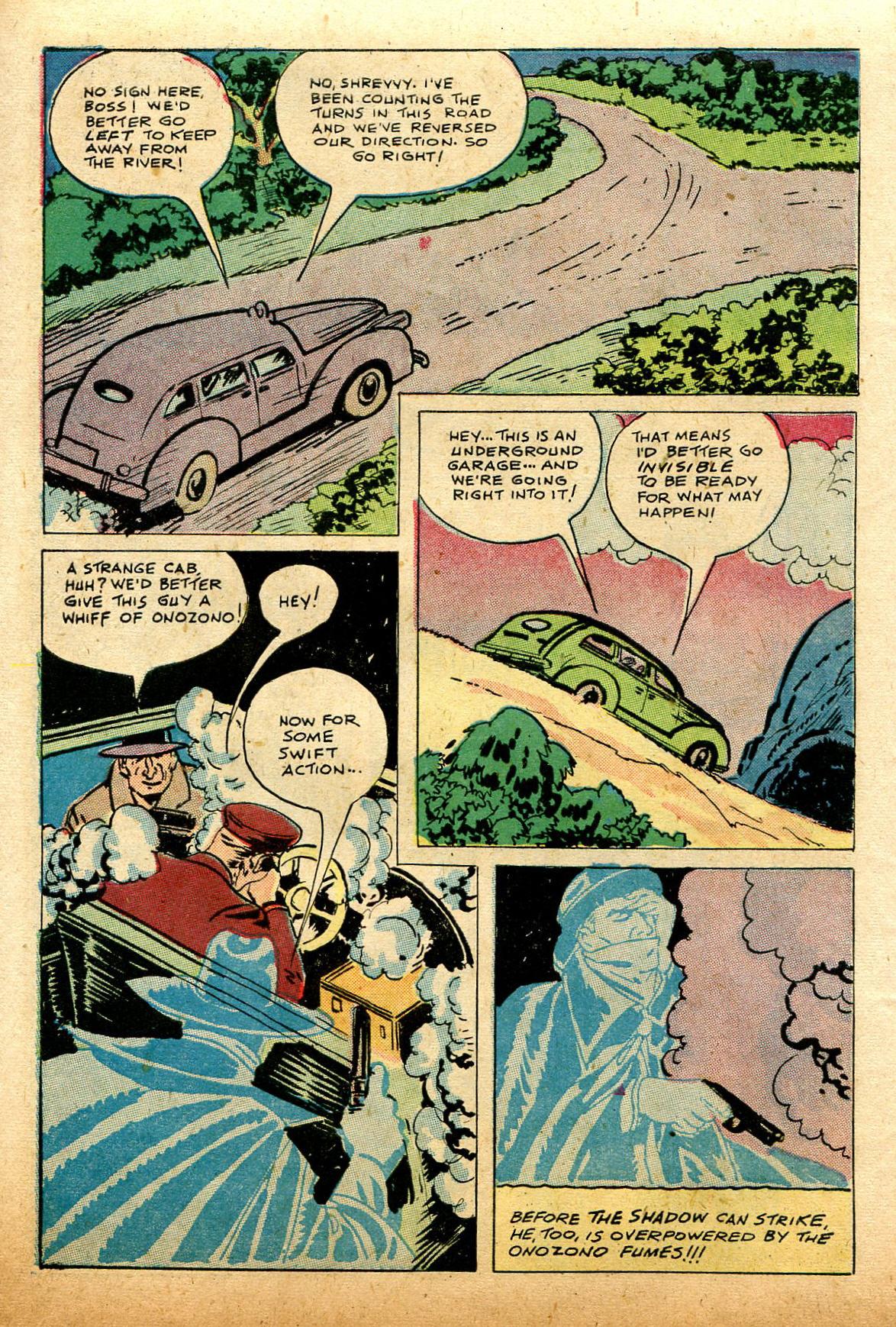 Read online Shadow Comics comic -  Issue #74 - 12
