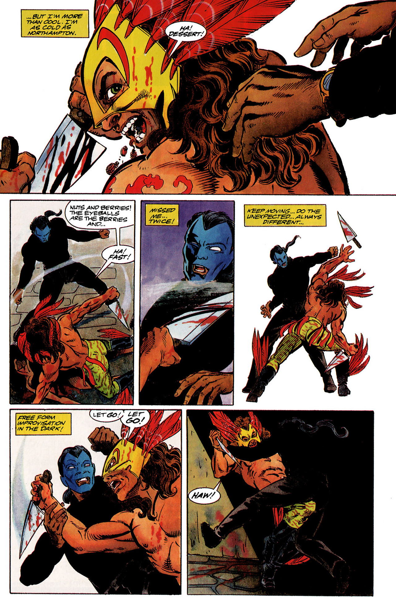 Read online Shadowman (1992) comic -  Issue #1 - 19