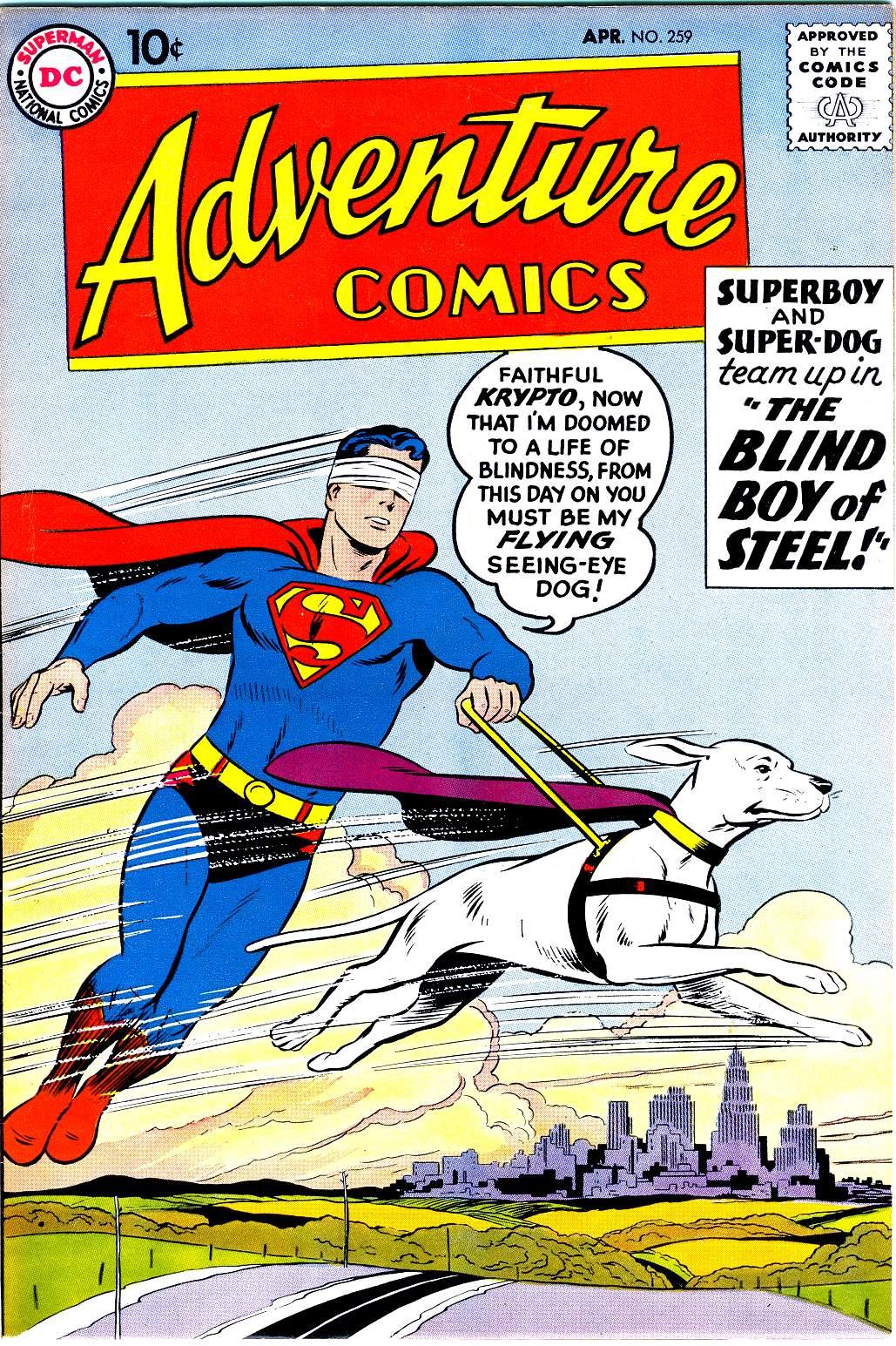 Read online Adventure Comics (1938) comic -  Issue #259 - 1