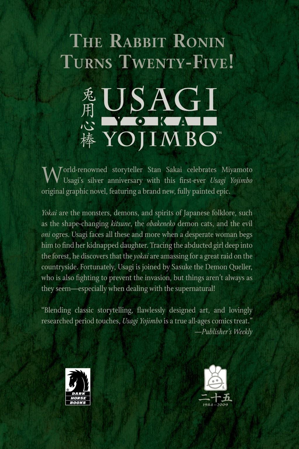 Read online Usagi Yojimbo: Yokai comic -  Issue # Full - 59