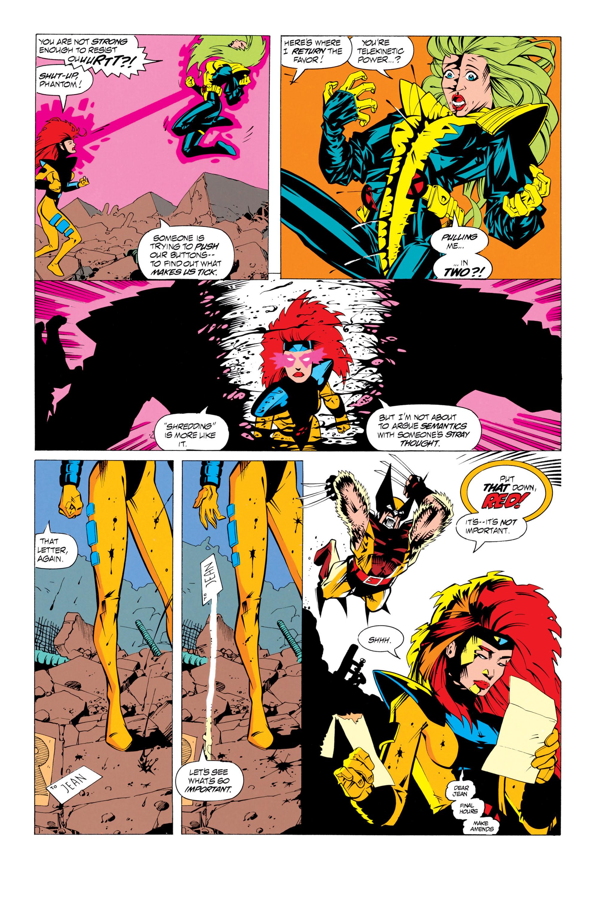 Read online Uncanny X-Men (1963) comic -  Issue # _Annual 17 - 32