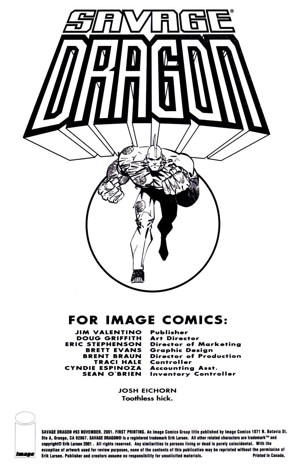 The Savage Dragon (1993) Issue #93 #96 - English 2